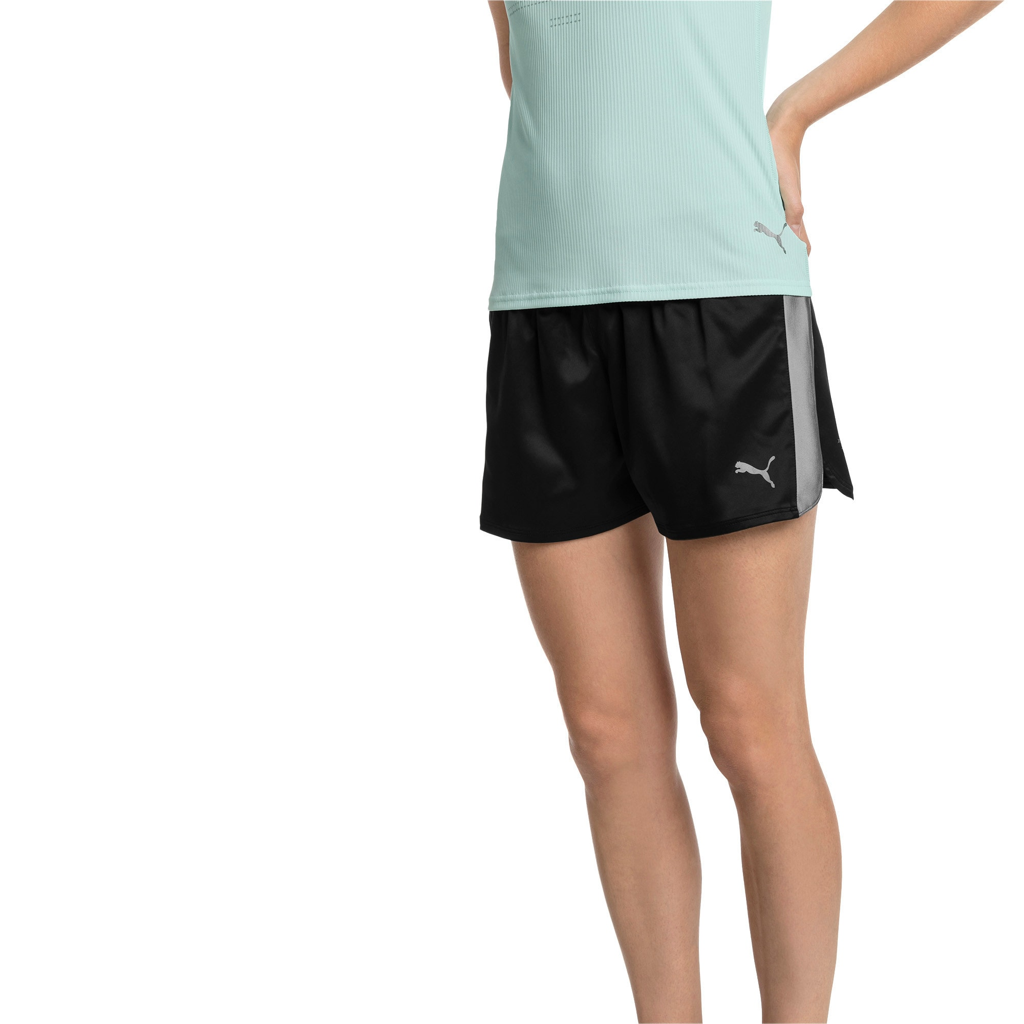 Thumbnail 1 of Blast Woven Women's Shorts, Puma Black, medium
