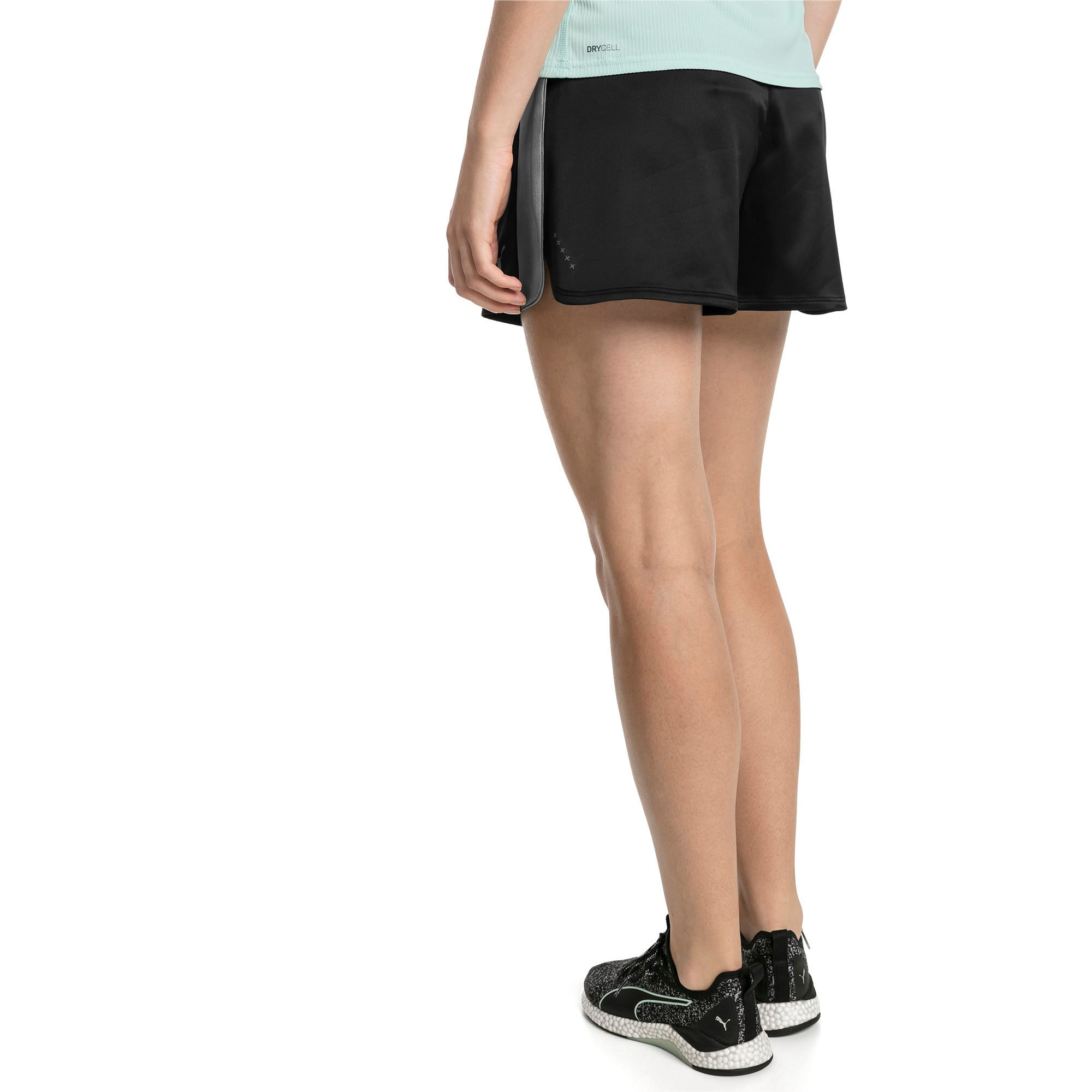 Thumbnail 2 of Blast Woven Women's Shorts, Puma Black, medium