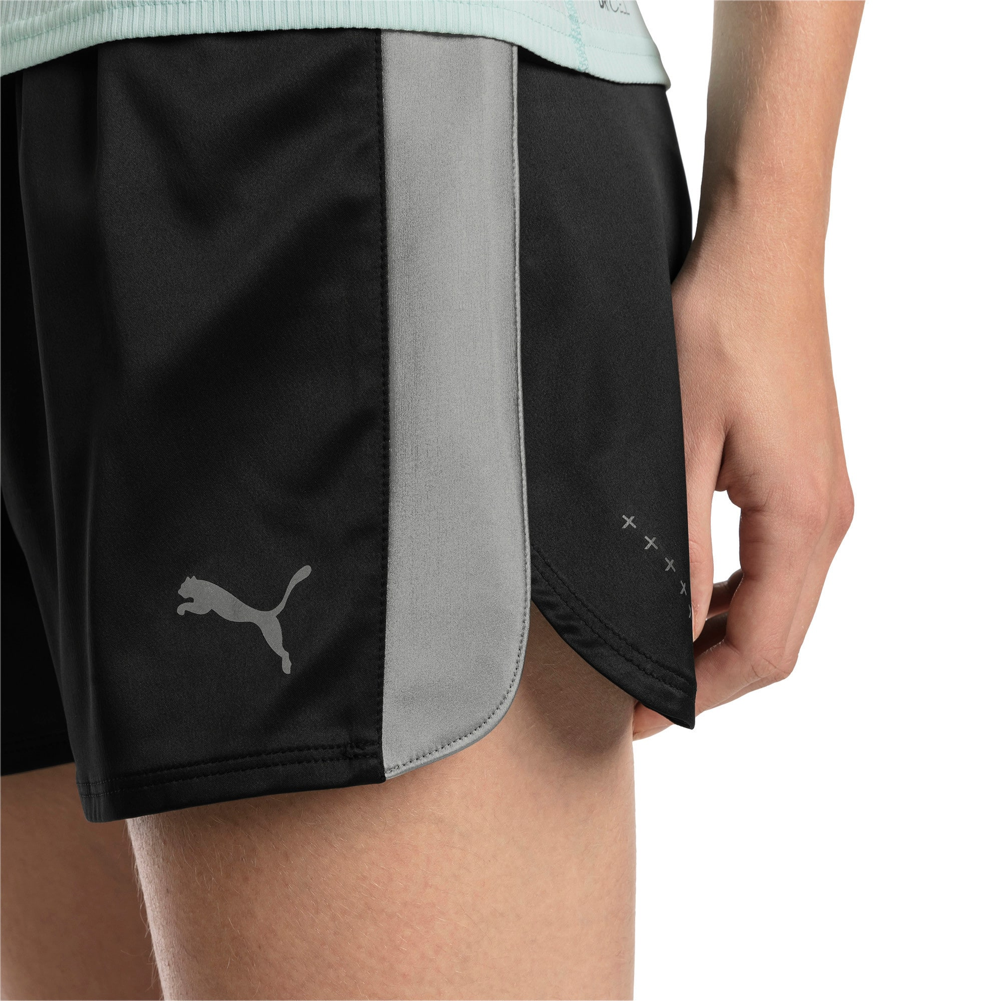 Thumbnail 4 of Blast Woven Women's Shorts, Puma Black, medium