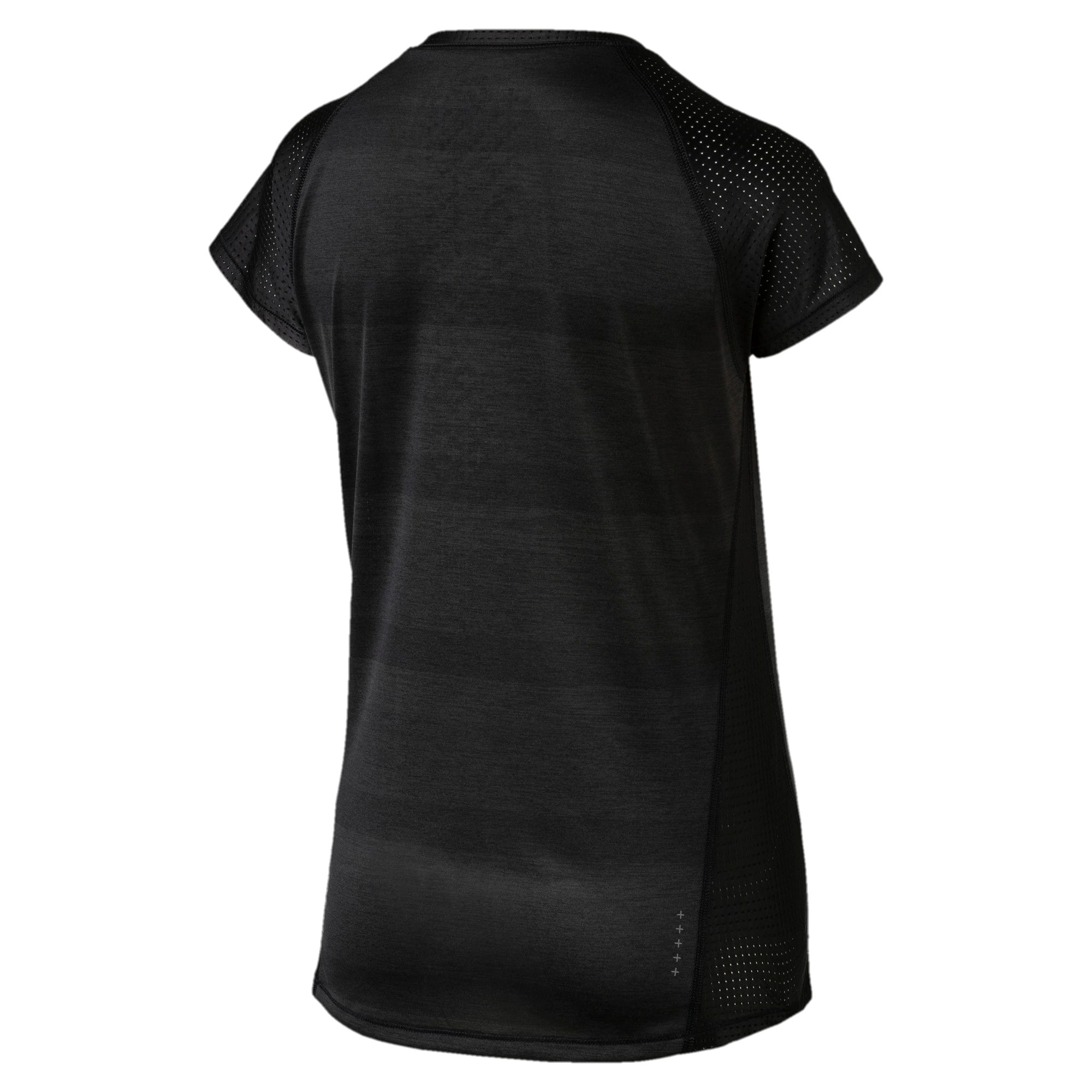Thumbnail 4 of Thermo- R+ Women's Performance Tee, Puma Black Heather, medium