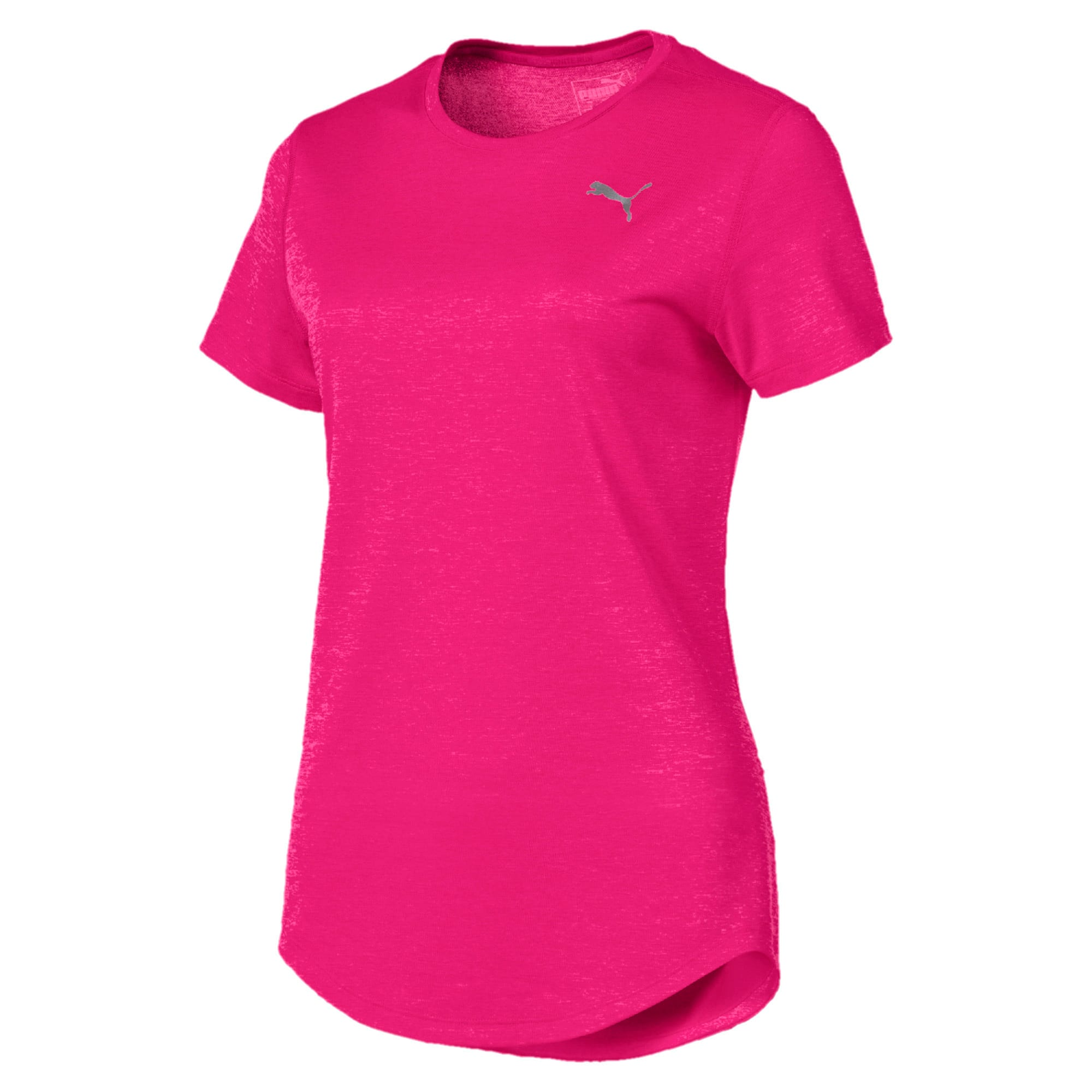 Thumbnail 4 of T-Shirt Epic Heather Running pour femme, Fuchsia Purple Heather, medium