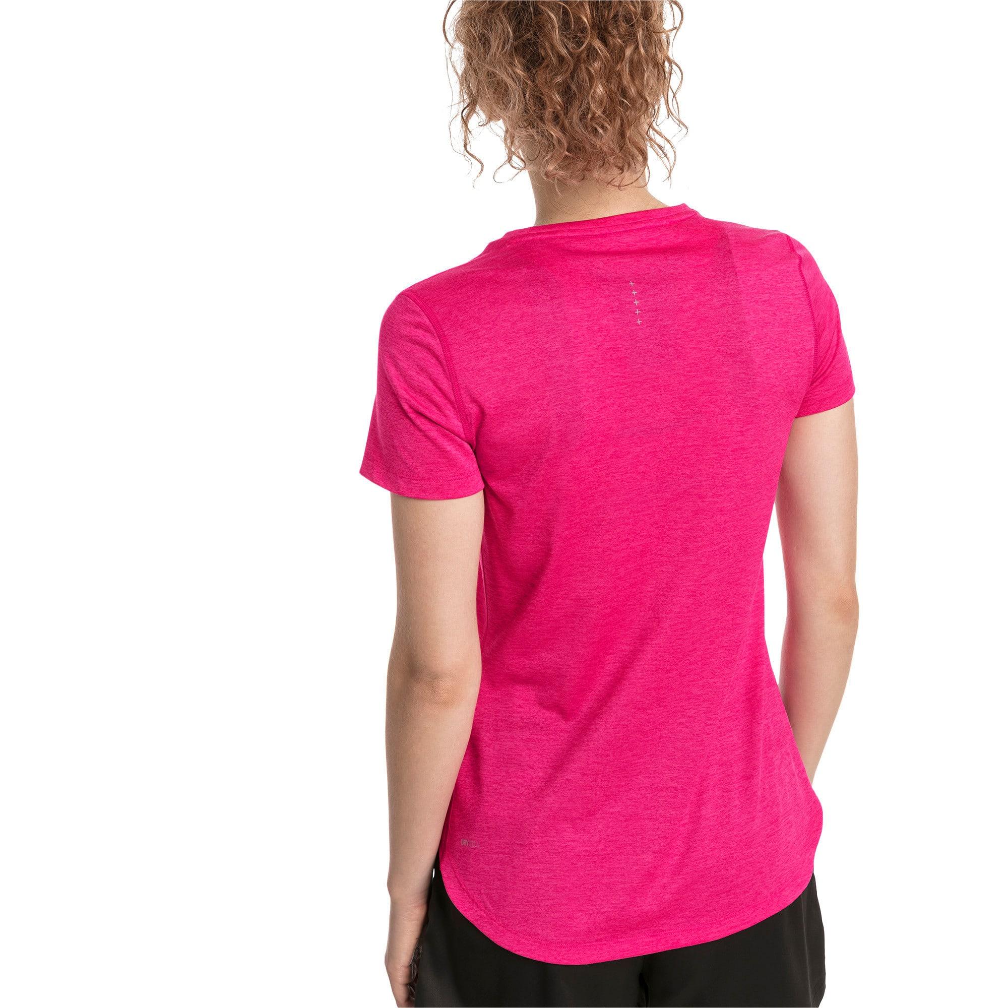 Thumbnail 2 of T-Shirt Epic Heather Running pour femme, Fuchsia Purple Heather, medium