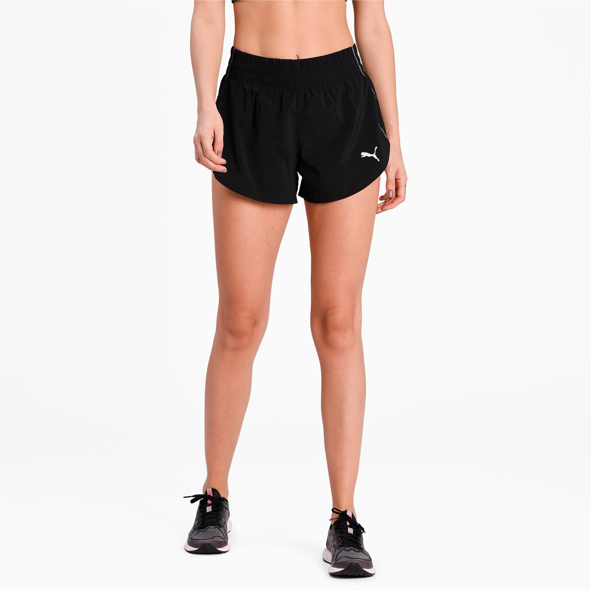 "Thumbnail 1 of Ignite 3"" Short, Puma Black, medium"