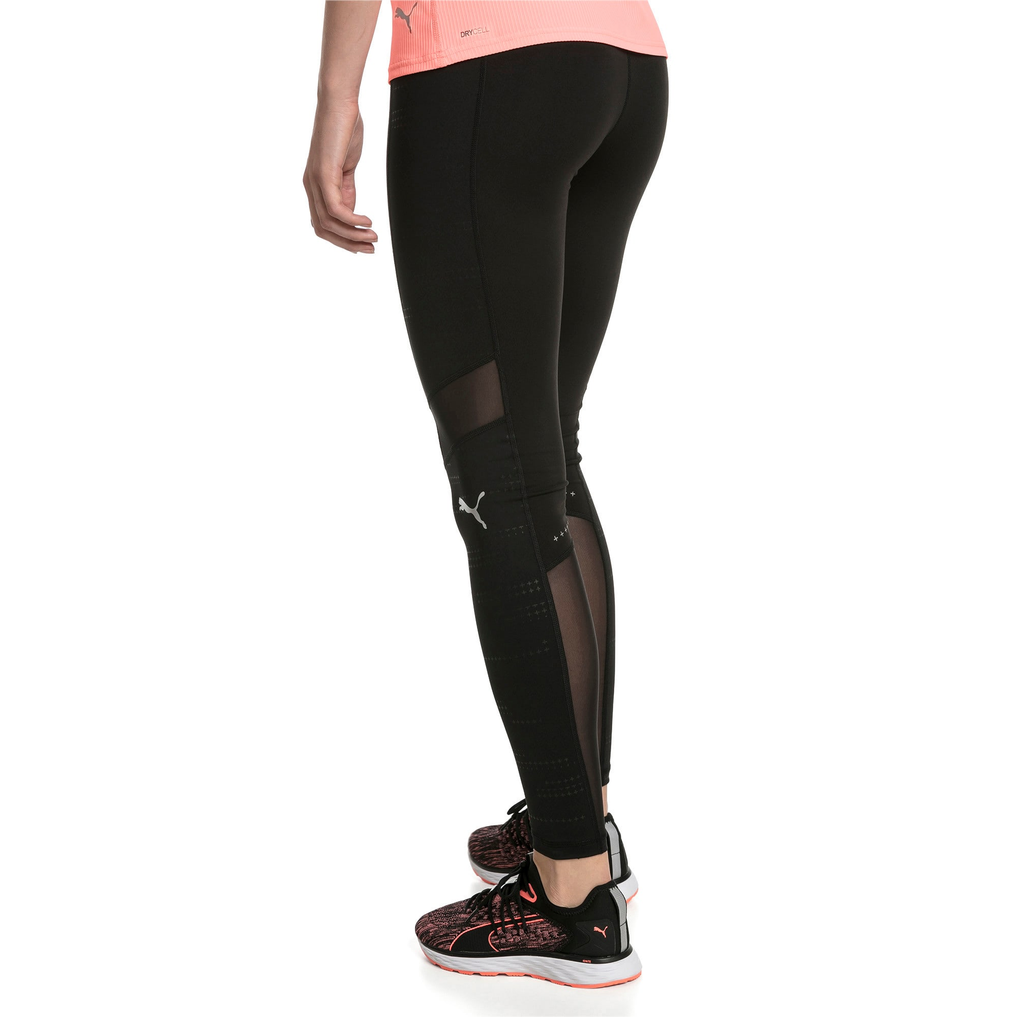 Thumbnail 2 of IGNITE Graphic Damen Laufhose, Puma Black, medium