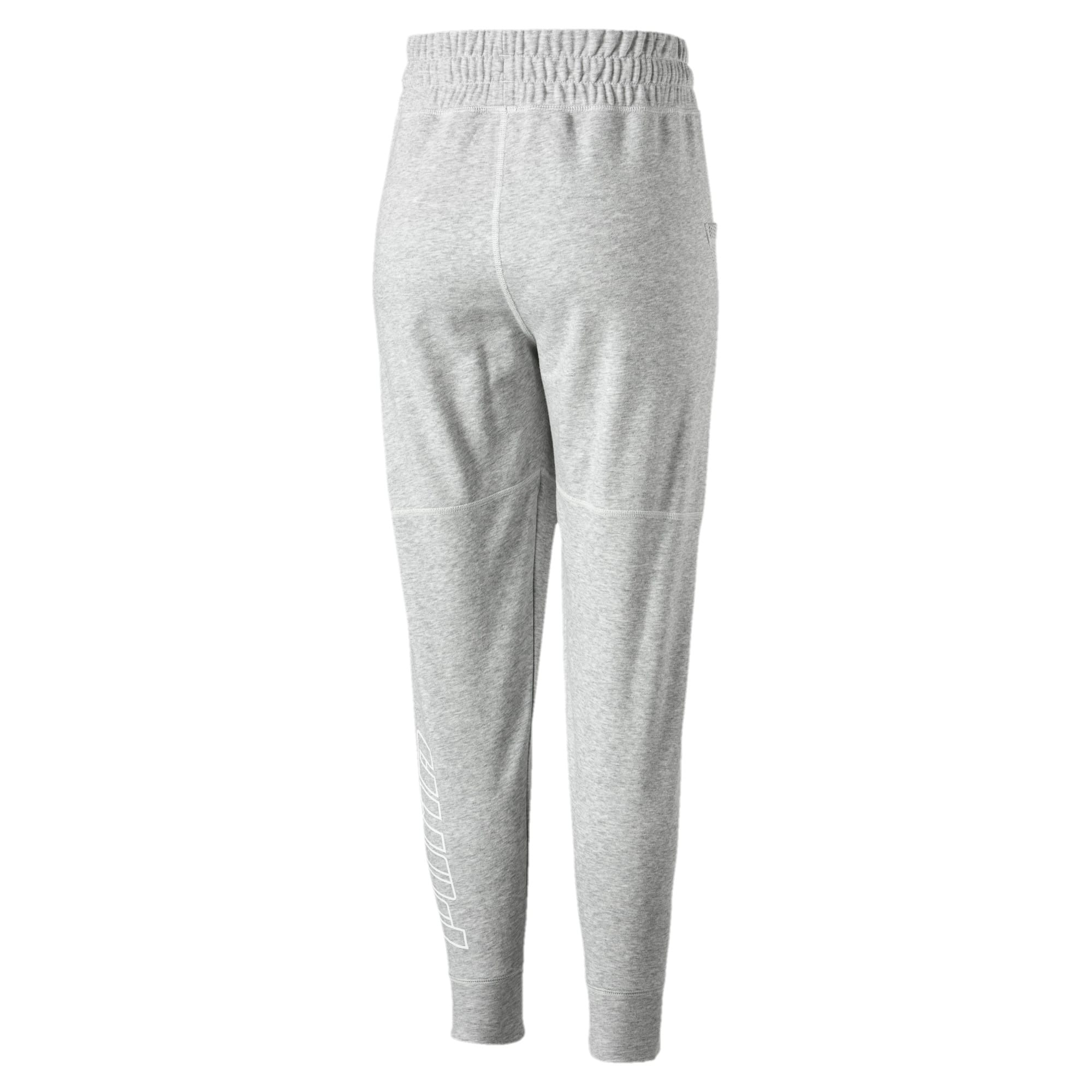 Thumbnail 3 of Yogini Women's 7/8 Pants, Light Gray Heather, medium