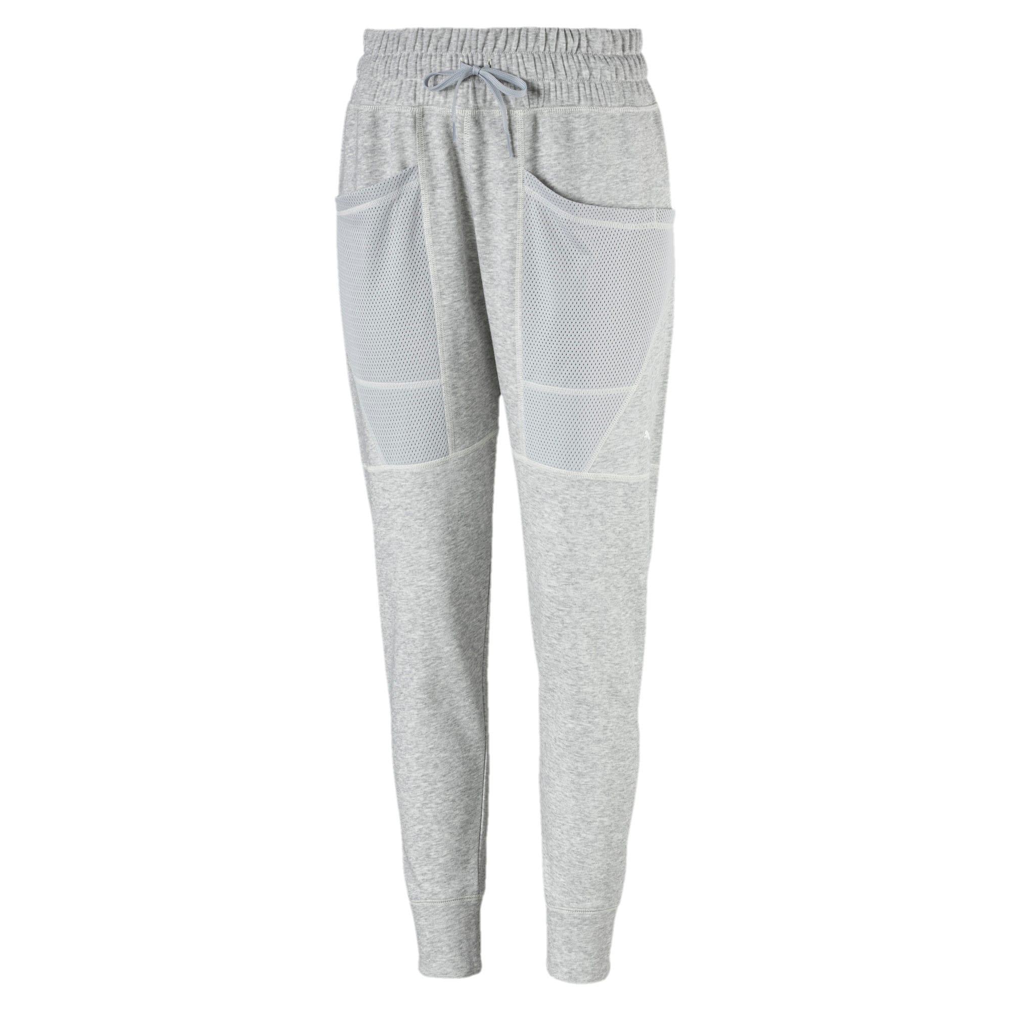 Thumbnail 2 of Yogini Women's 7/8 Pants, Light Gray Heather, medium