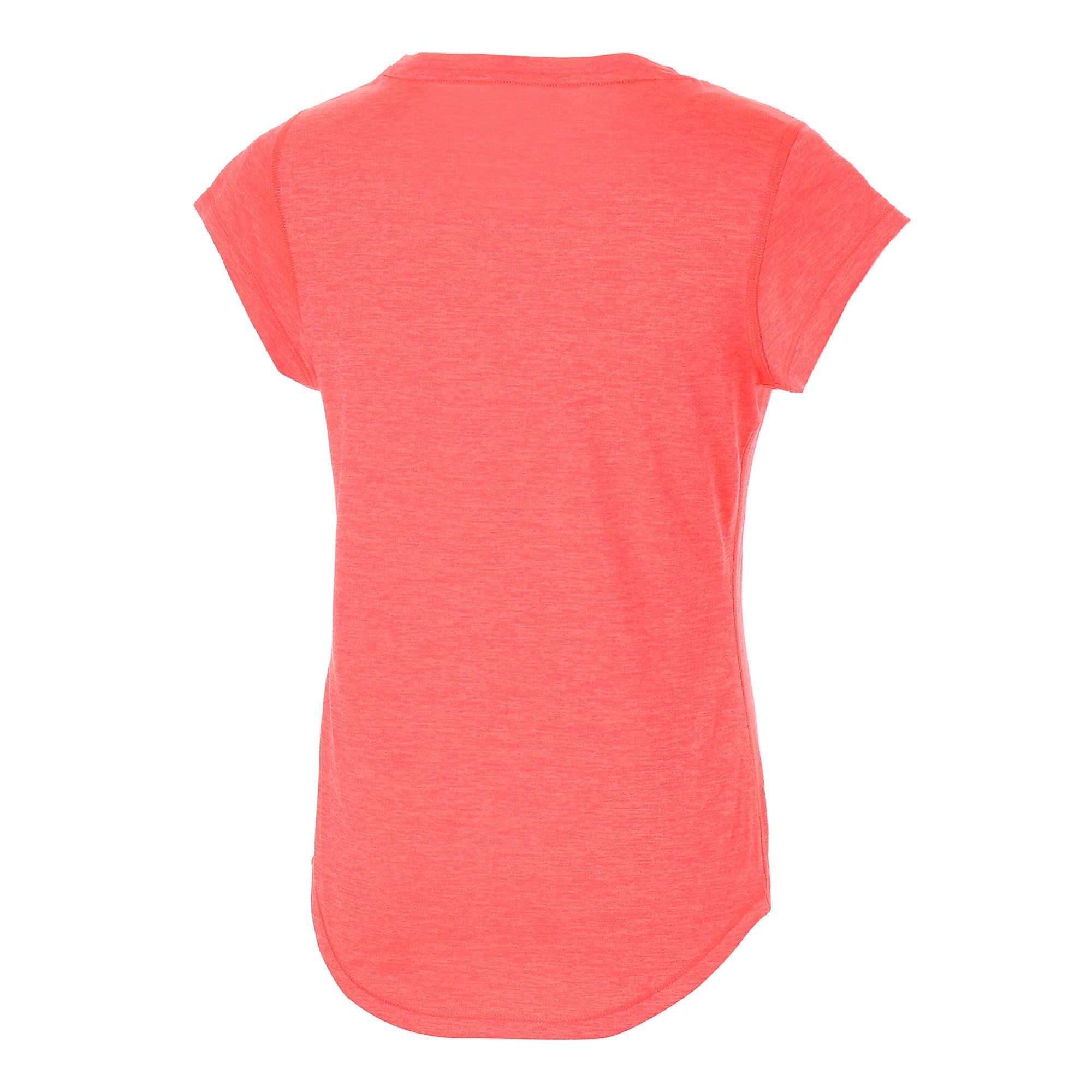 Thumbnail 6 of ヘザー キャット ウィメンズ ランニング Tシャツ 半袖, Pink Alert, medium-JPN