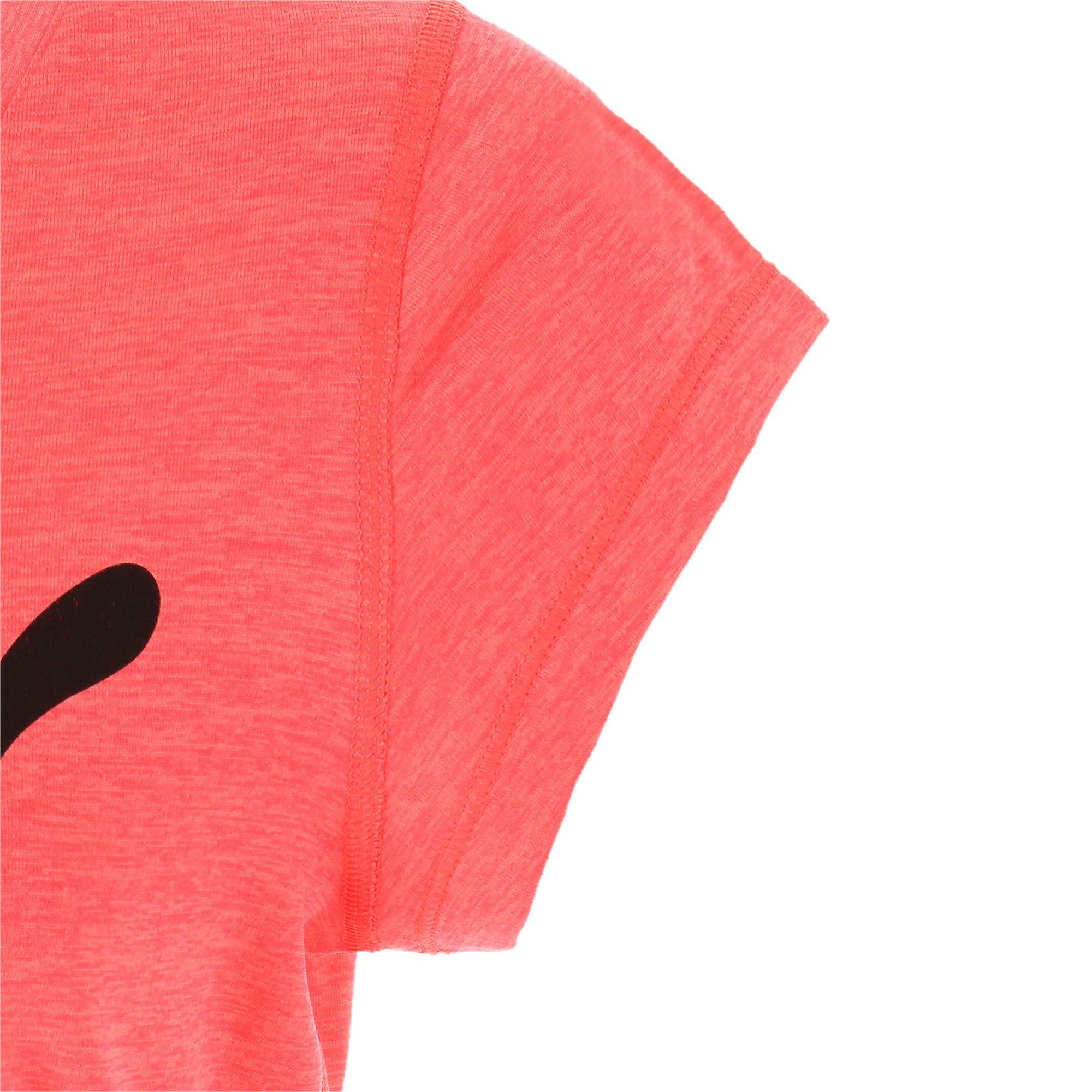 Thumbnail 8 of ヘザー キャット ウィメンズ ランニング Tシャツ 半袖, Pink Alert, medium-JPN
