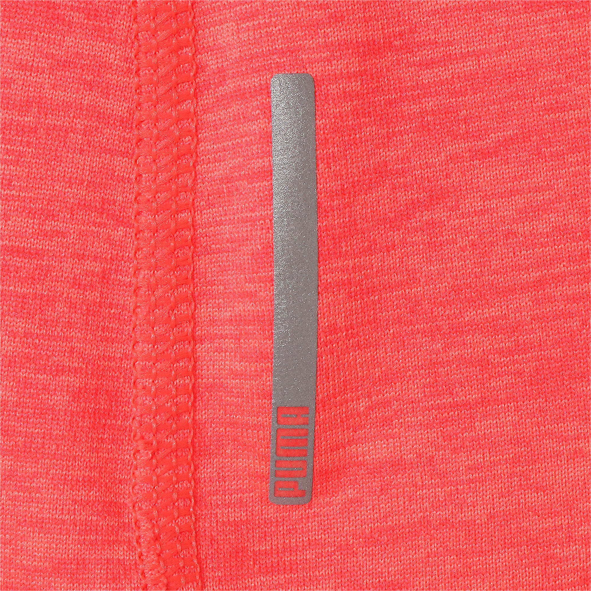 Thumbnail 10 of ヘザー キャット ウィメンズ ランニング Tシャツ 半袖, Pink Alert, medium-JPN