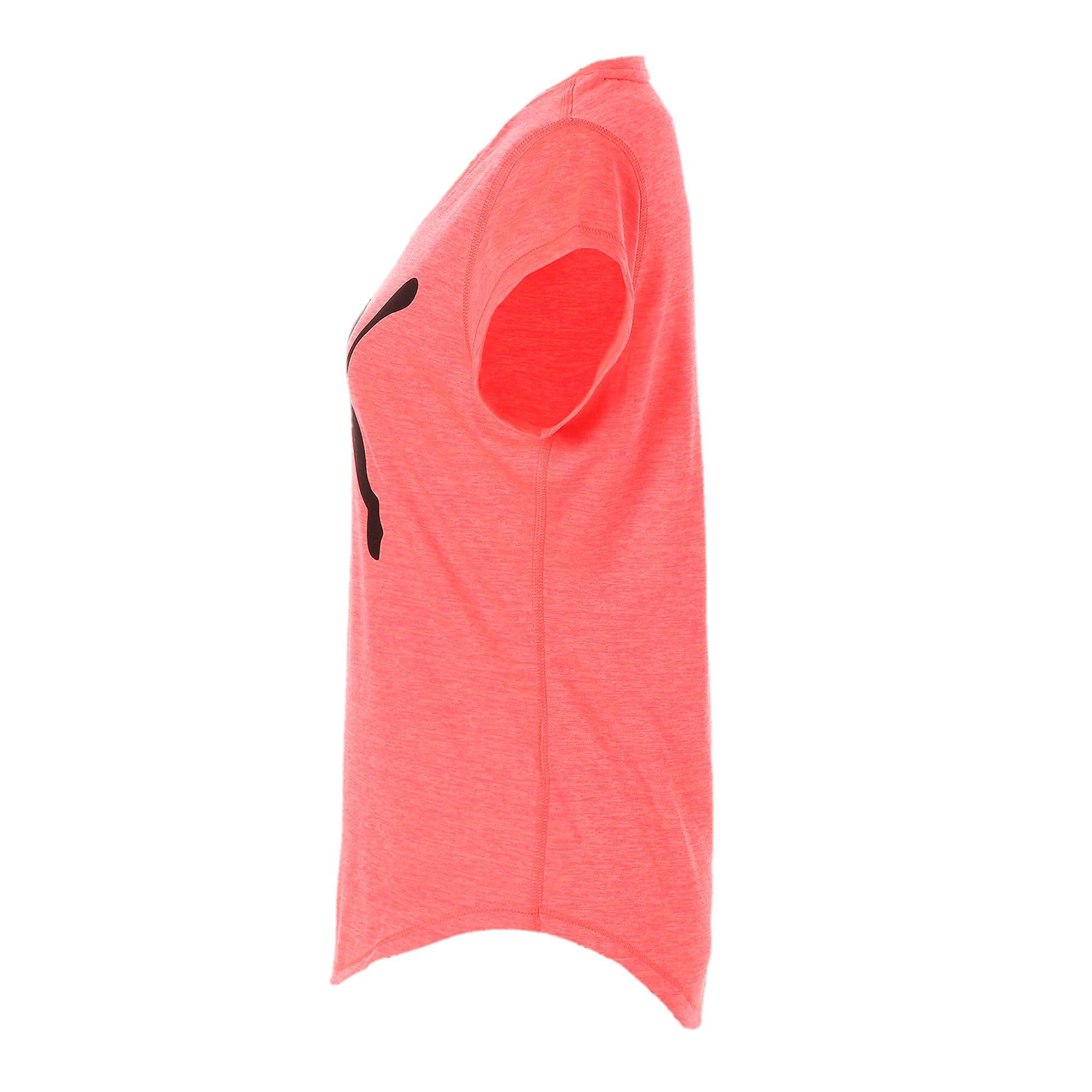 Thumbnail 5 of ヘザー キャット ウィメンズ ランニング Tシャツ 半袖, Pink Alert, medium-JPN