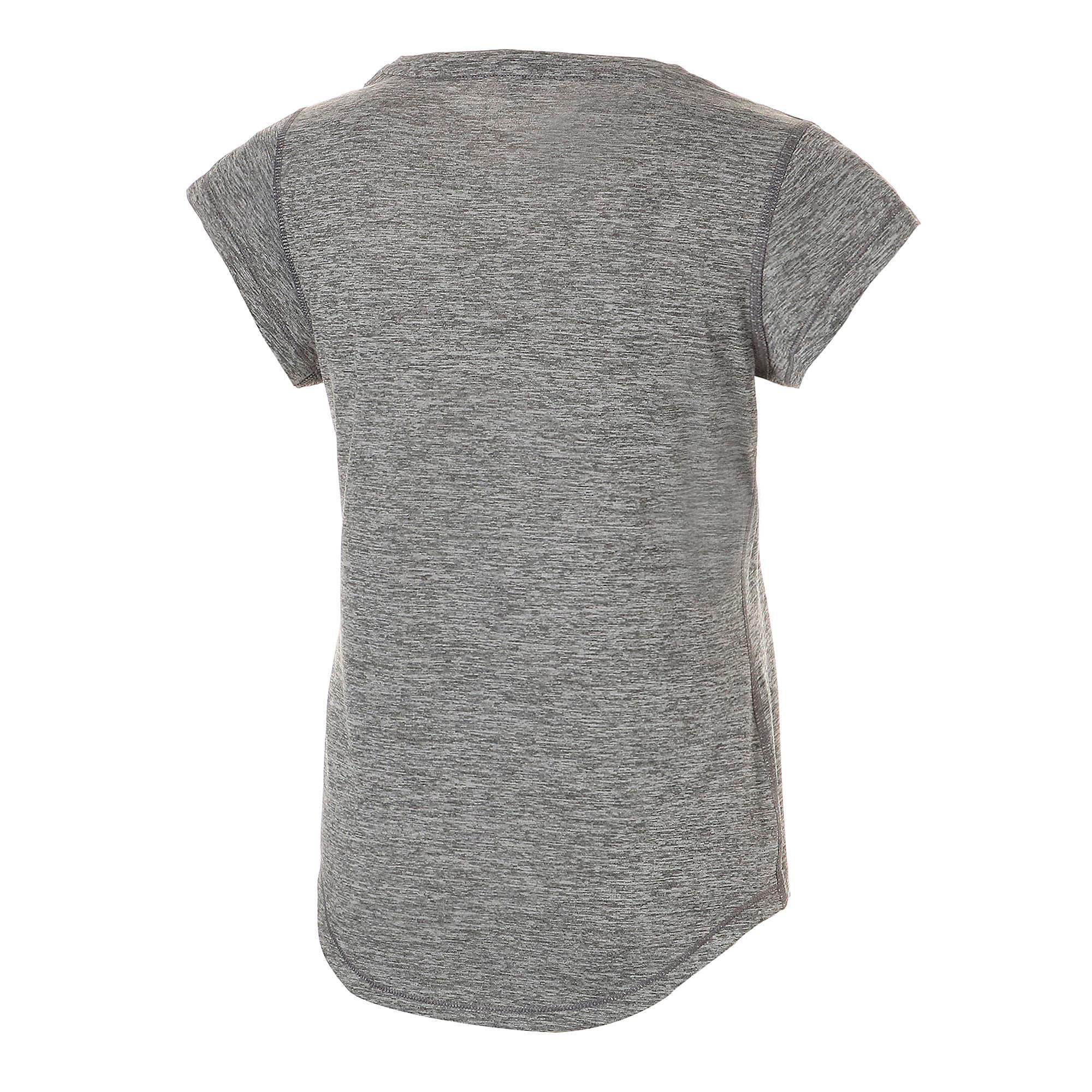 Thumbnail 6 of ヘザー キャット ウィメンズ ランニング Tシャツ 半袖, Medium Gray Heather, medium-JPN