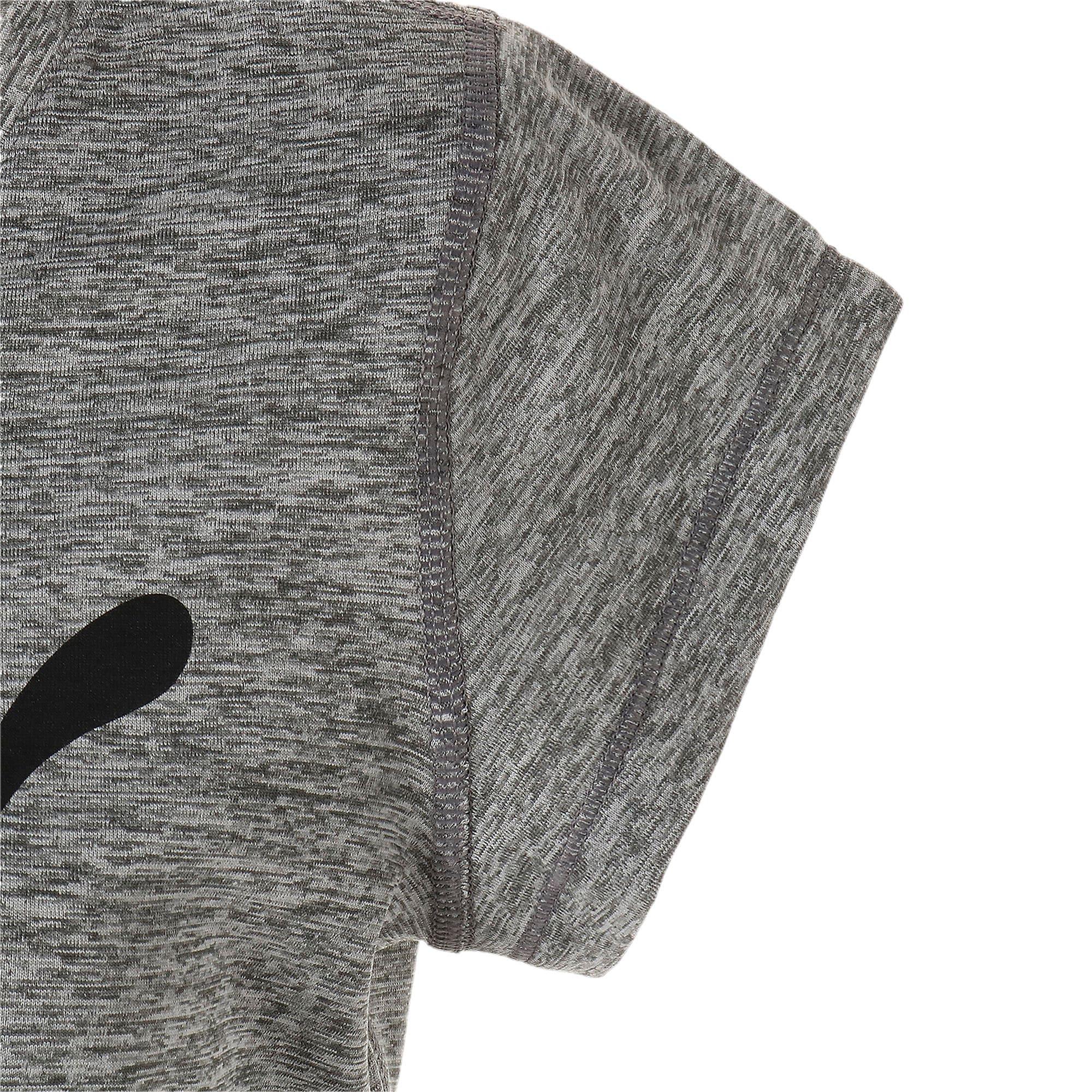 Thumbnail 7 of ヘザー キャット ウィメンズ ランニング Tシャツ 半袖, Medium Gray Heather, medium-JPN