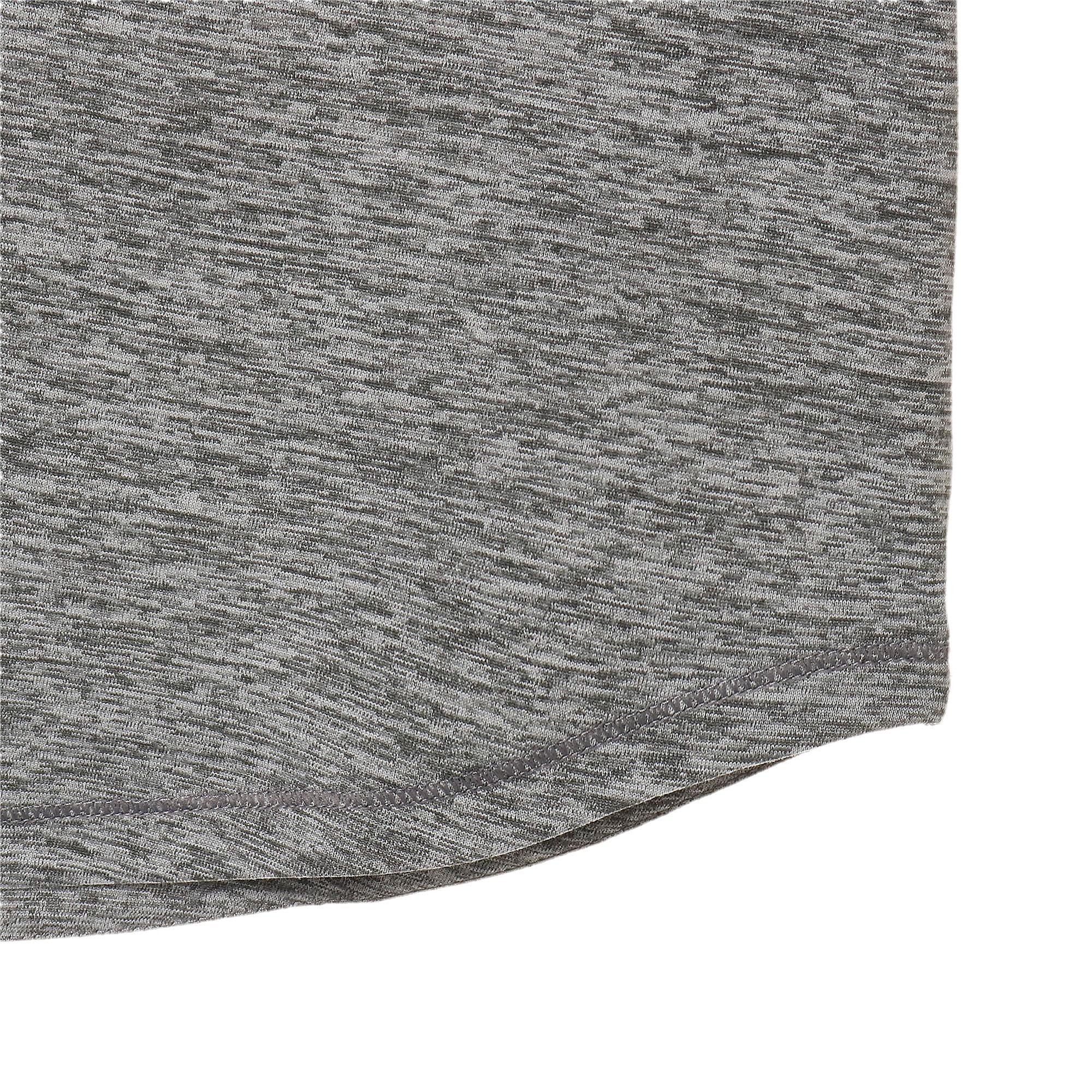 Thumbnail 8 of ヘザー キャット ウィメンズ ランニング Tシャツ 半袖, Medium Gray Heather, medium-JPN