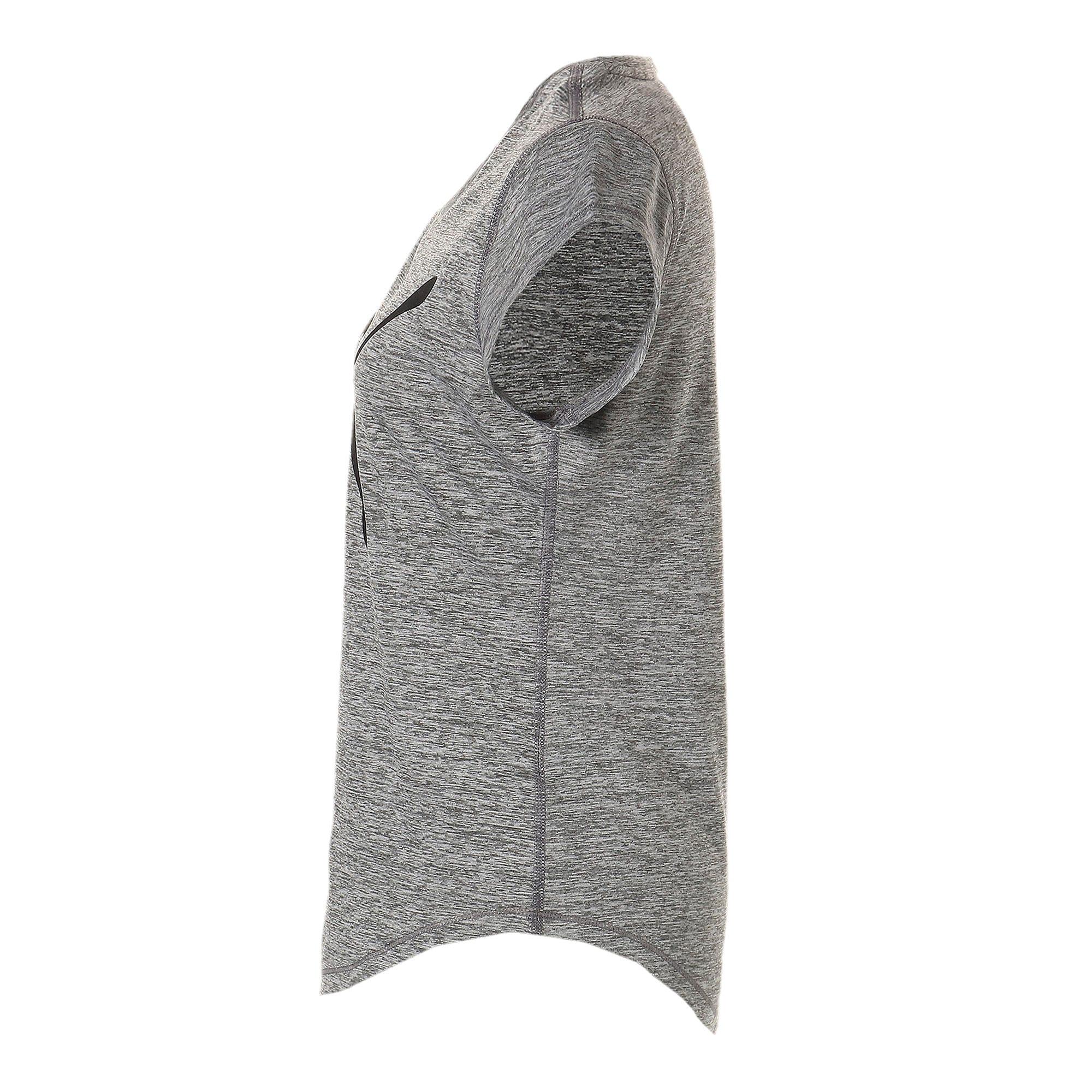 Thumbnail 5 of ヘザー キャット ウィメンズ ランニング Tシャツ 半袖, Medium Gray Heather, medium-JPN