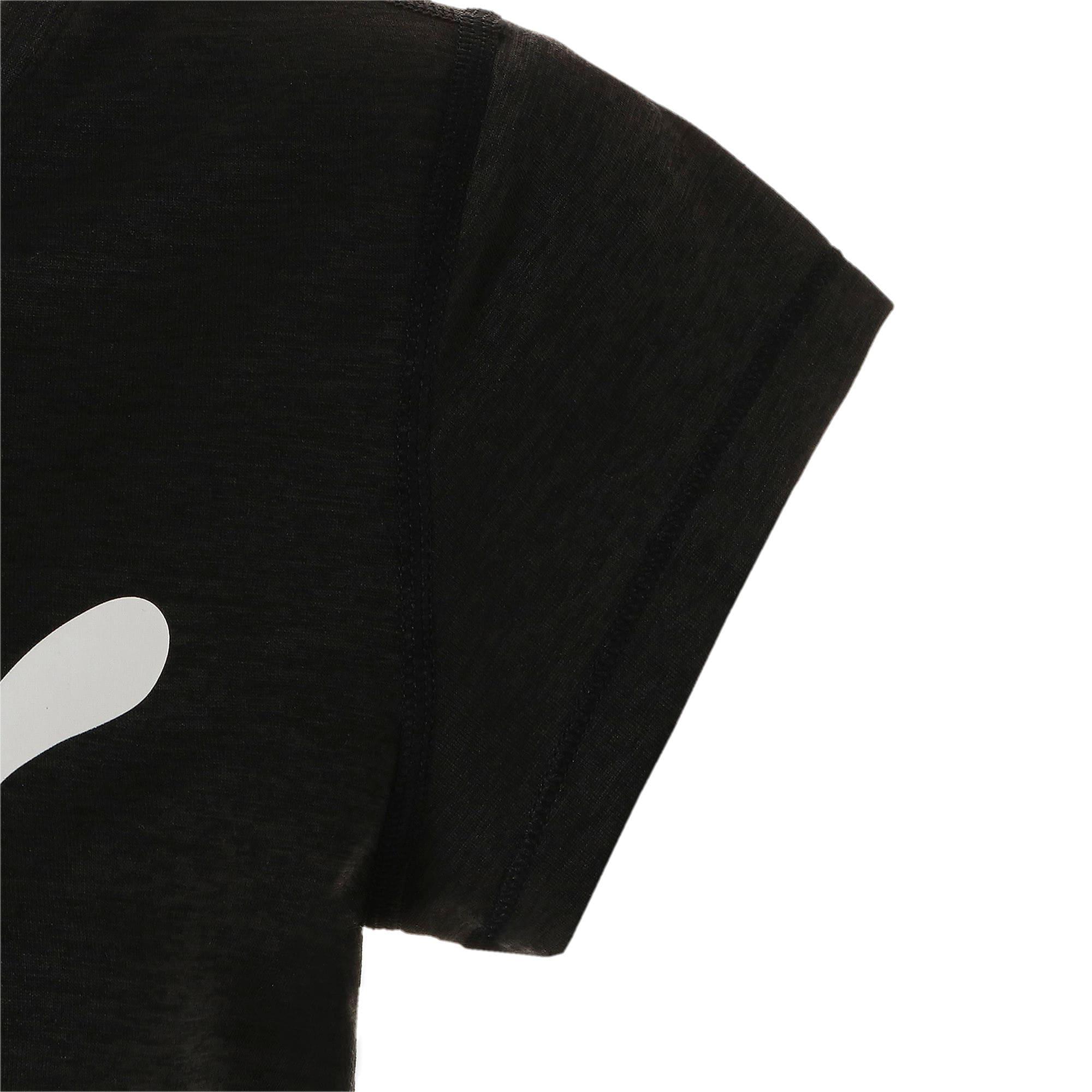 Thumbnail 8 of ヘザー キャット ウィメンズ ランニング Tシャツ 半袖, Puma Black, medium-JPN