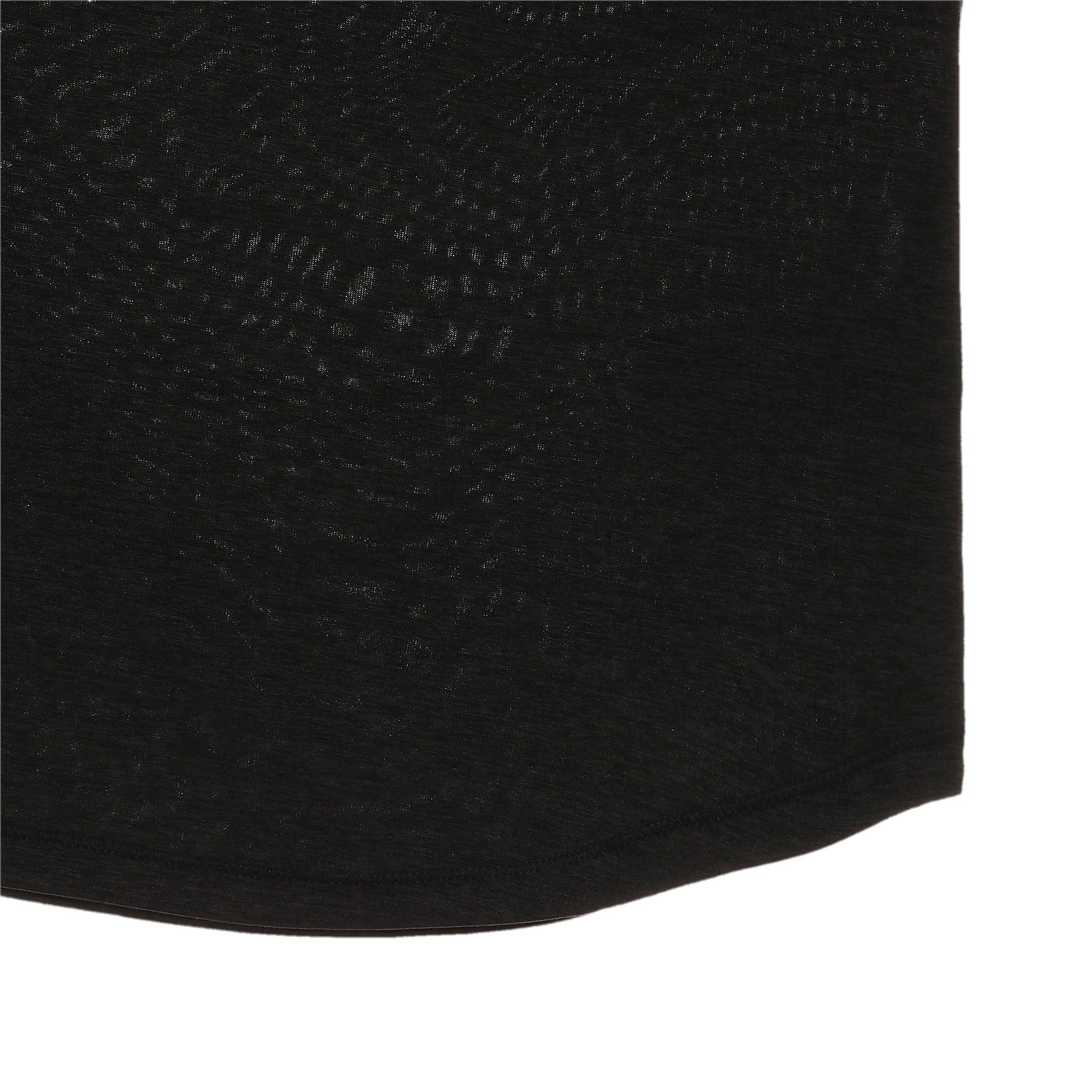 Thumbnail 9 of ヘザー キャット ウィメンズ ランニング Tシャツ 半袖, Puma Black, medium-JPN