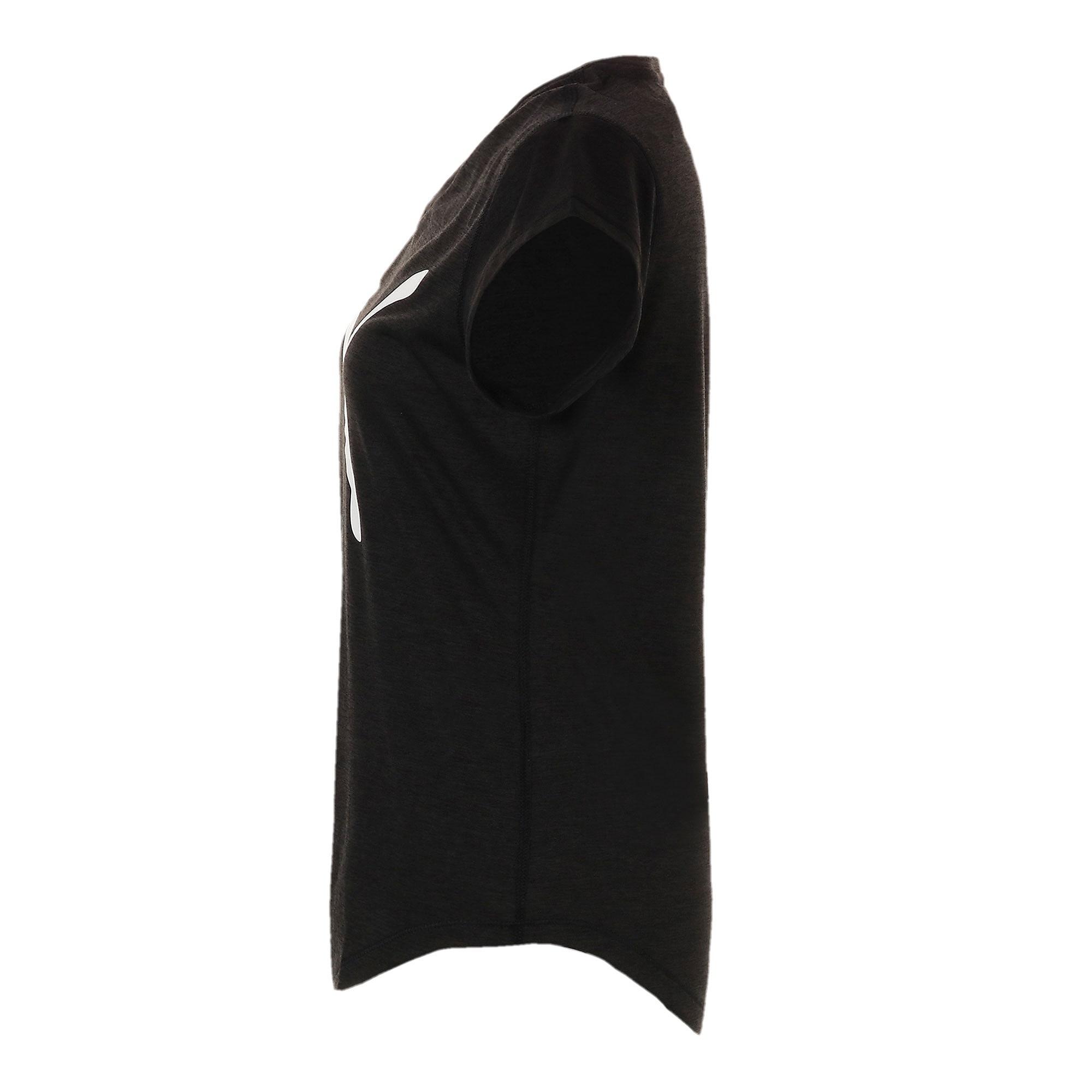 Thumbnail 5 of ヘザー キャット ウィメンズ ランニング Tシャツ 半袖, Puma Black, medium-JPN