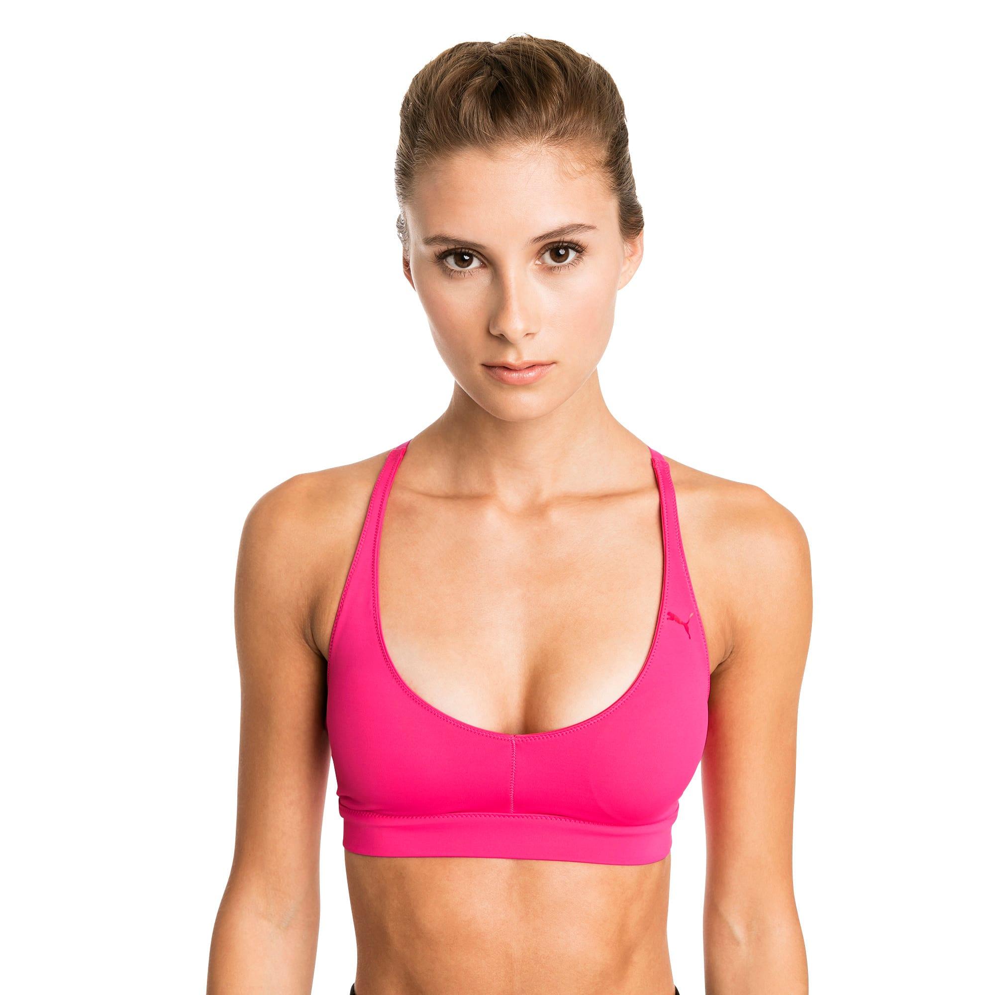 Thumbnail 1 of SpotLite Women's Low Impact Sports Bra, Fuchsia Purple, medium