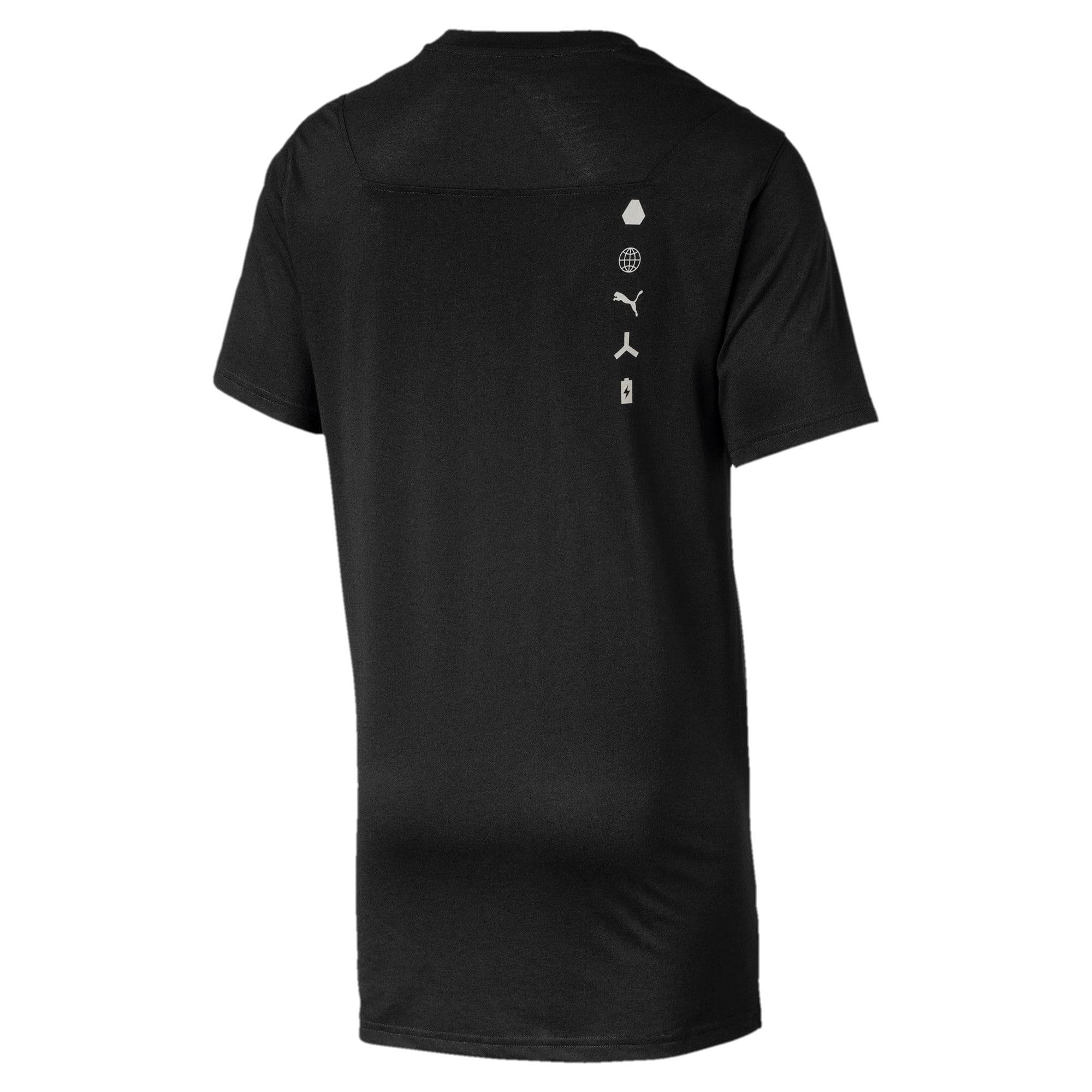 Thumbnail 3 of Energy Desert SNR Short Sleeve Men's Training Top, Puma Black, medium