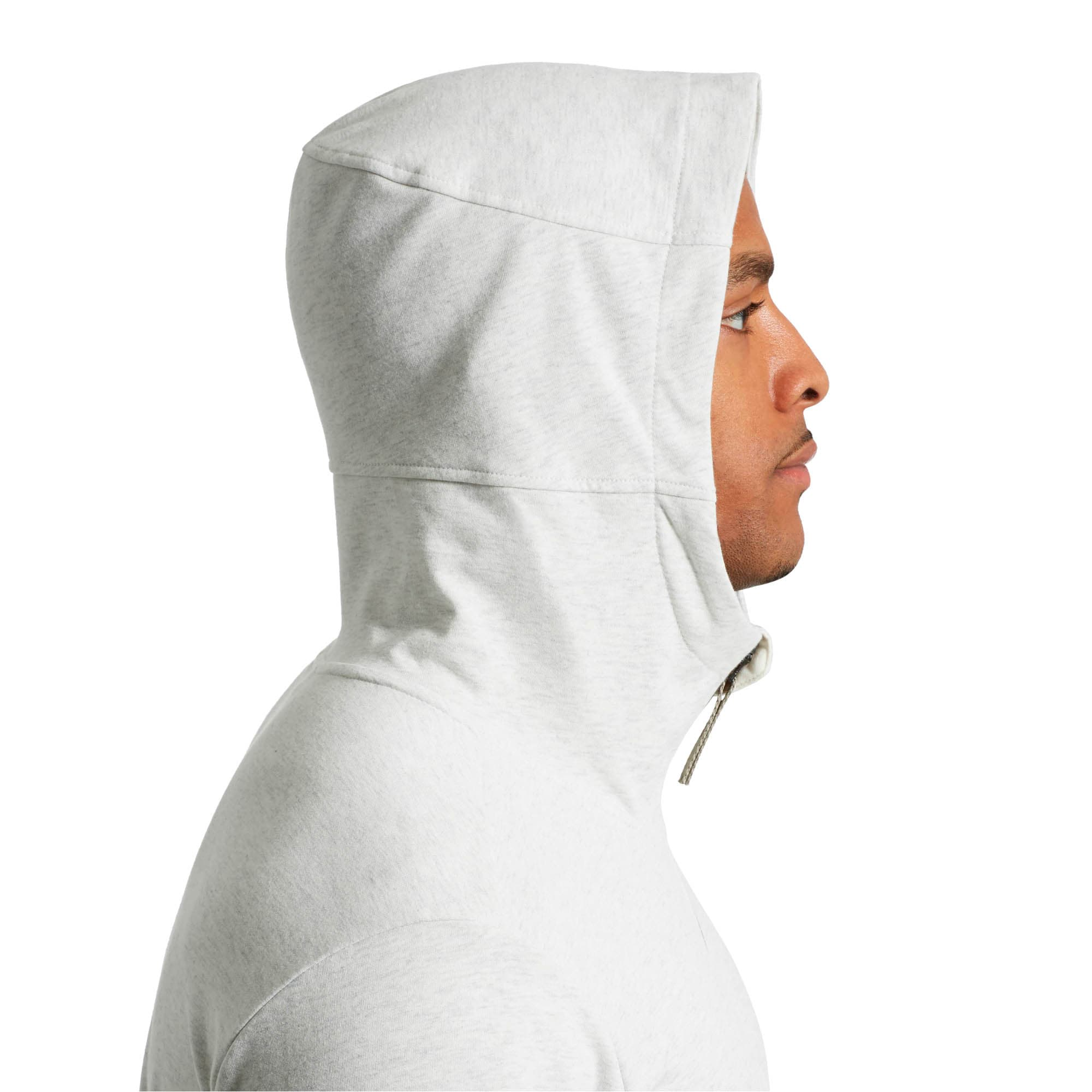 Thumbnail 3 of Energy Desert Full-Zip Men's Jacket, Whisper White Heather, medium