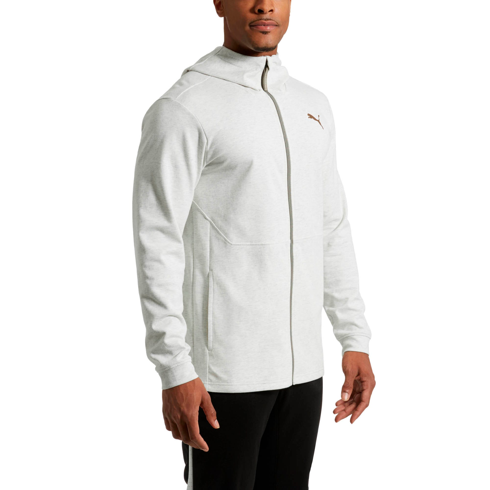 Thumbnail 2 of Energy Desert Full-Zip Men's Jacket, Whisper White Heather, medium
