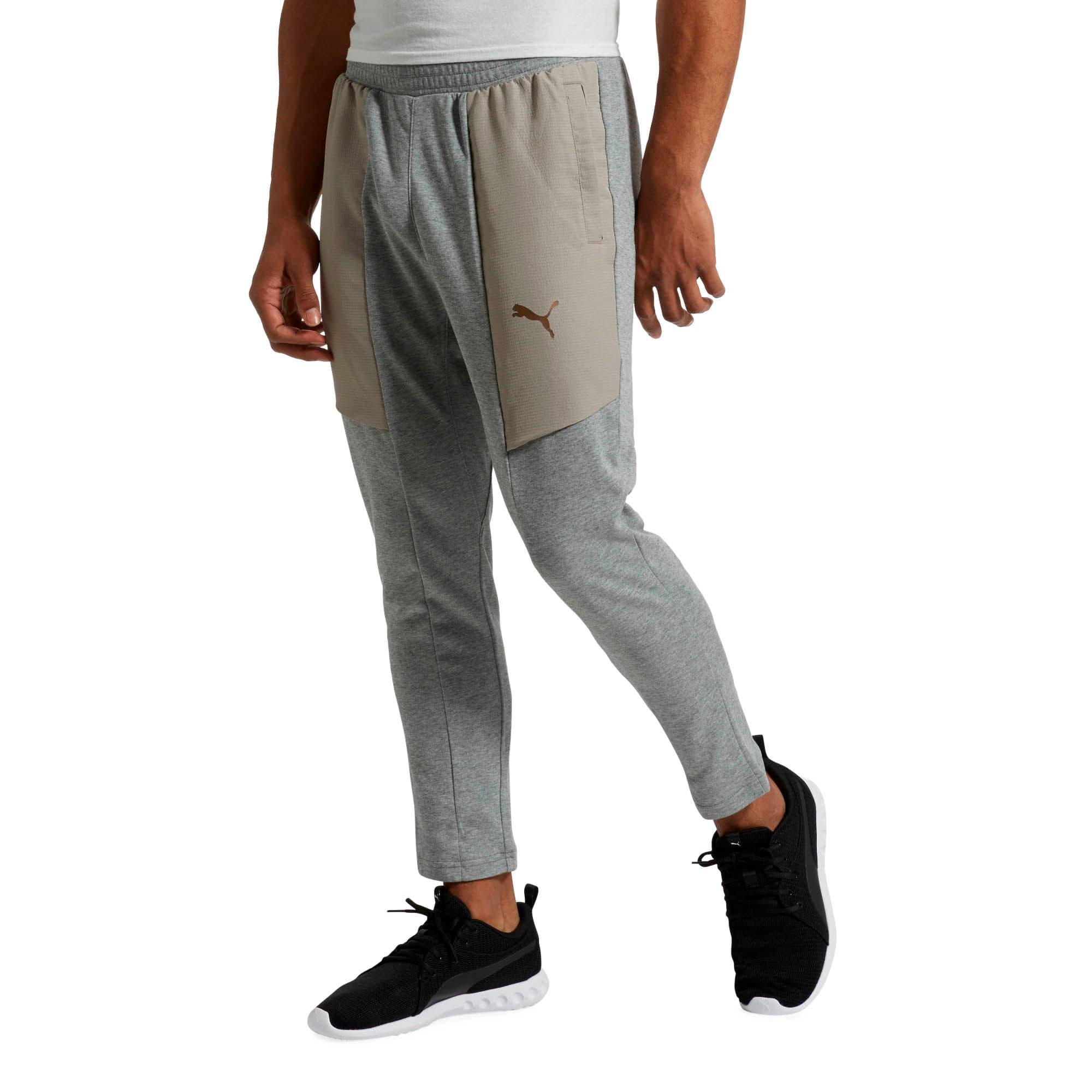Thumbnail 2 of Energy Desert Tapered Men's Training Pants, Medium Gray Heather, medium