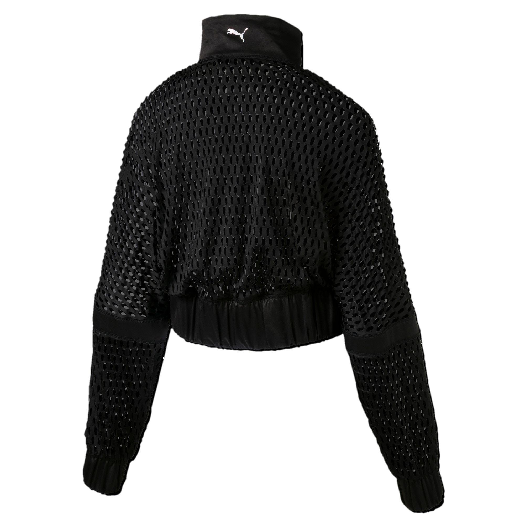 Thumbnail 4 of On the Brink Women's Knit Jacket, Puma Black, medium