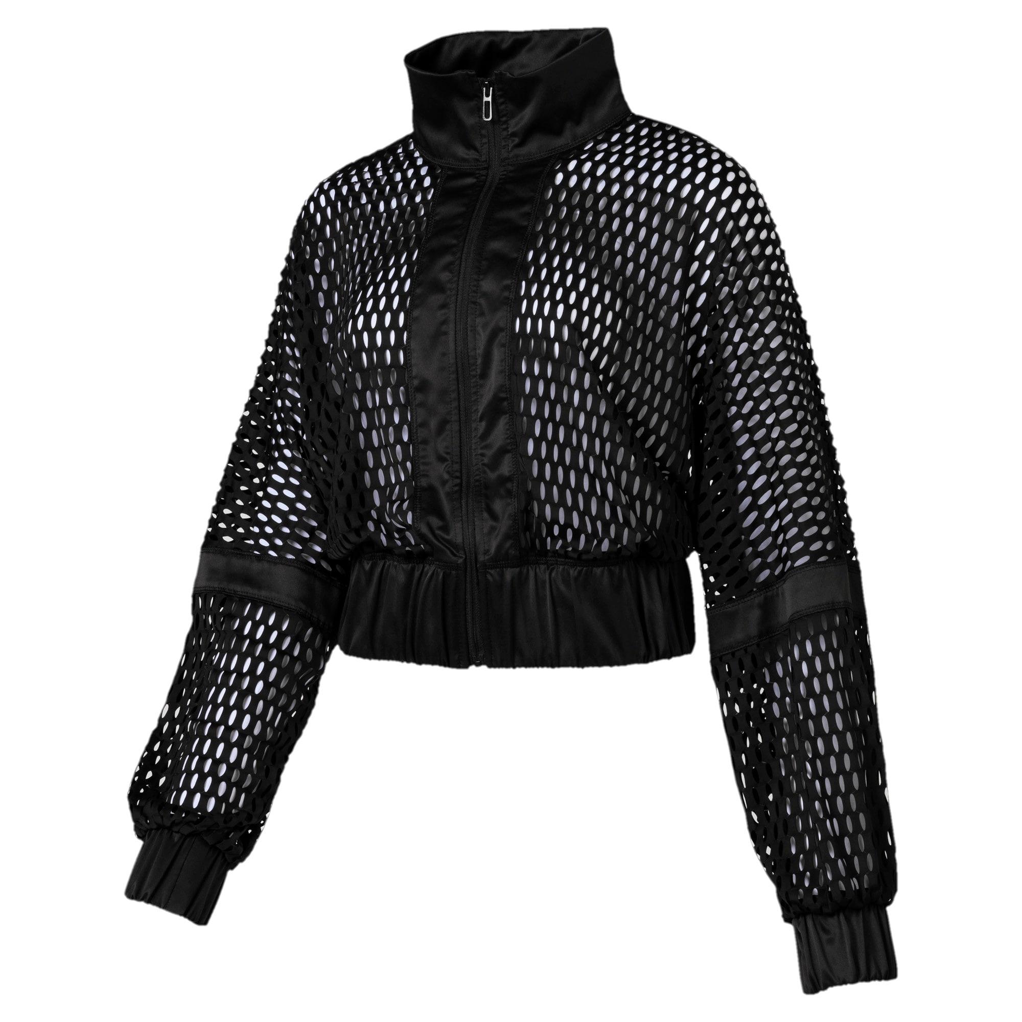 Thumbnail 3 of On the Brink Women's Knit Jacket, Puma Black, medium