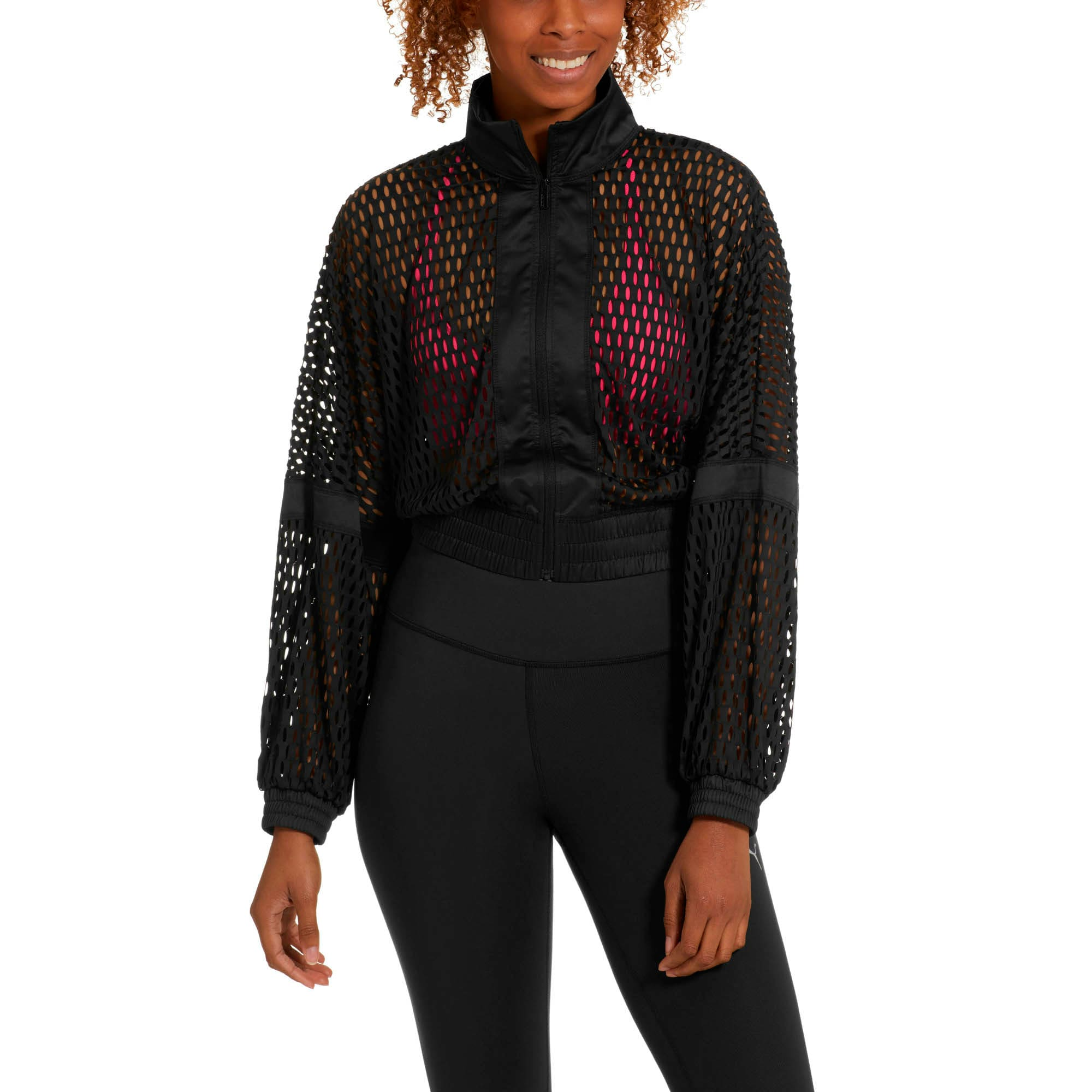 Thumbnail 1 of On the Brink Women's Knit Jacket, Puma Black, medium