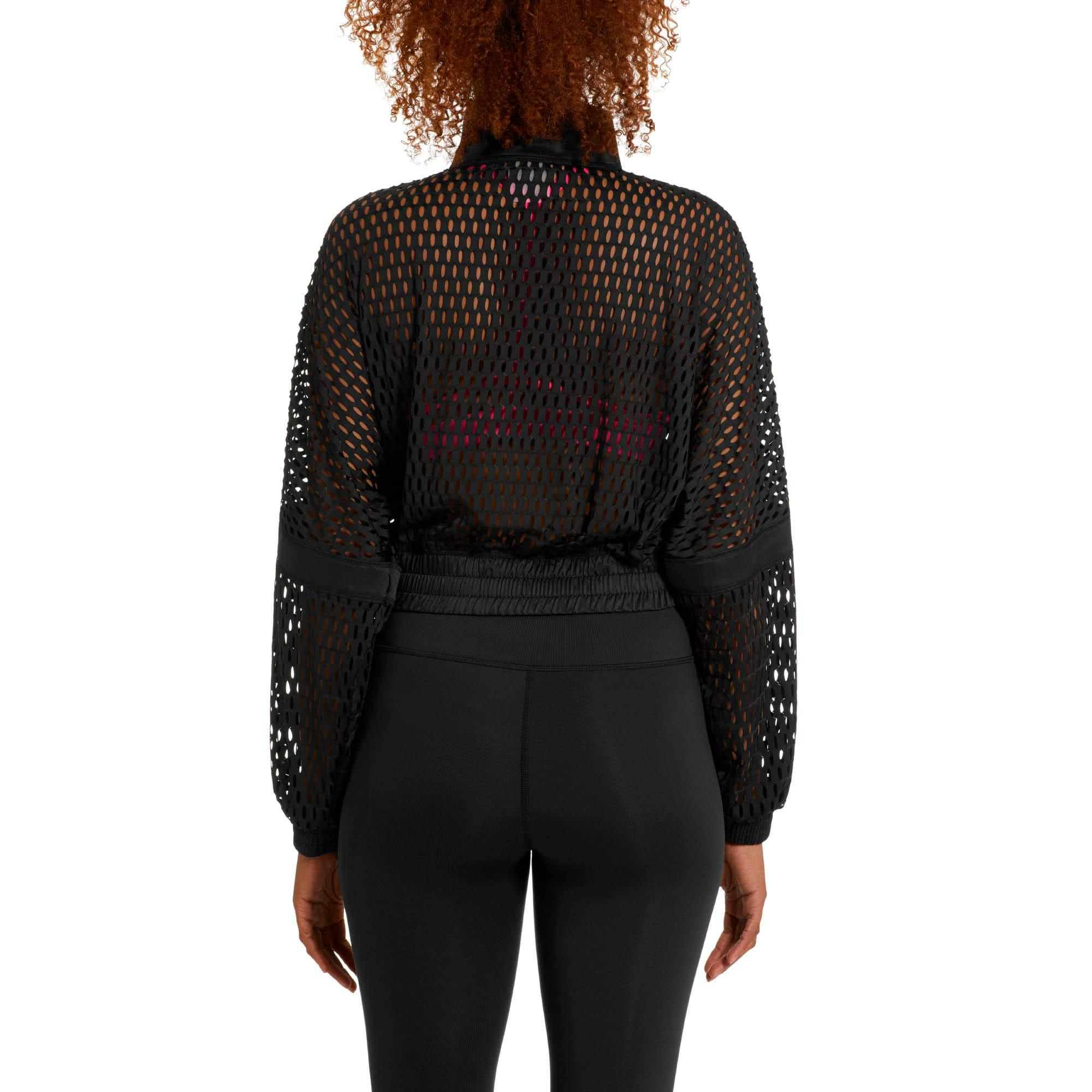 Thumbnail 2 of On the Brink Women's Knit Jacket, Puma Black, medium