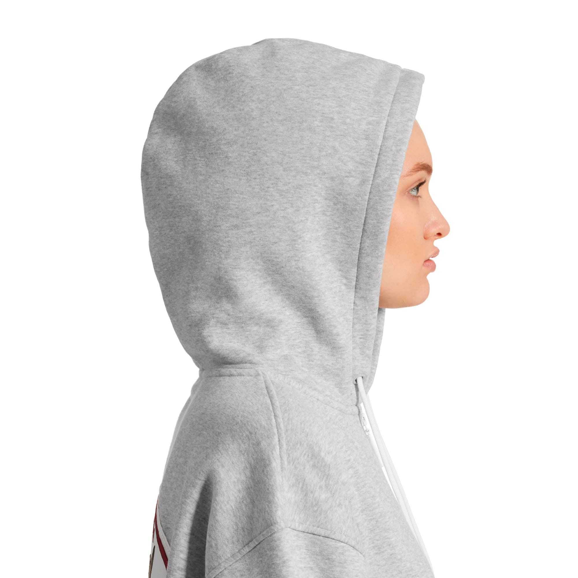 Thumbnail 9 of SG x PUMA Full Zip Hoodie, Light Gray Heather, medium