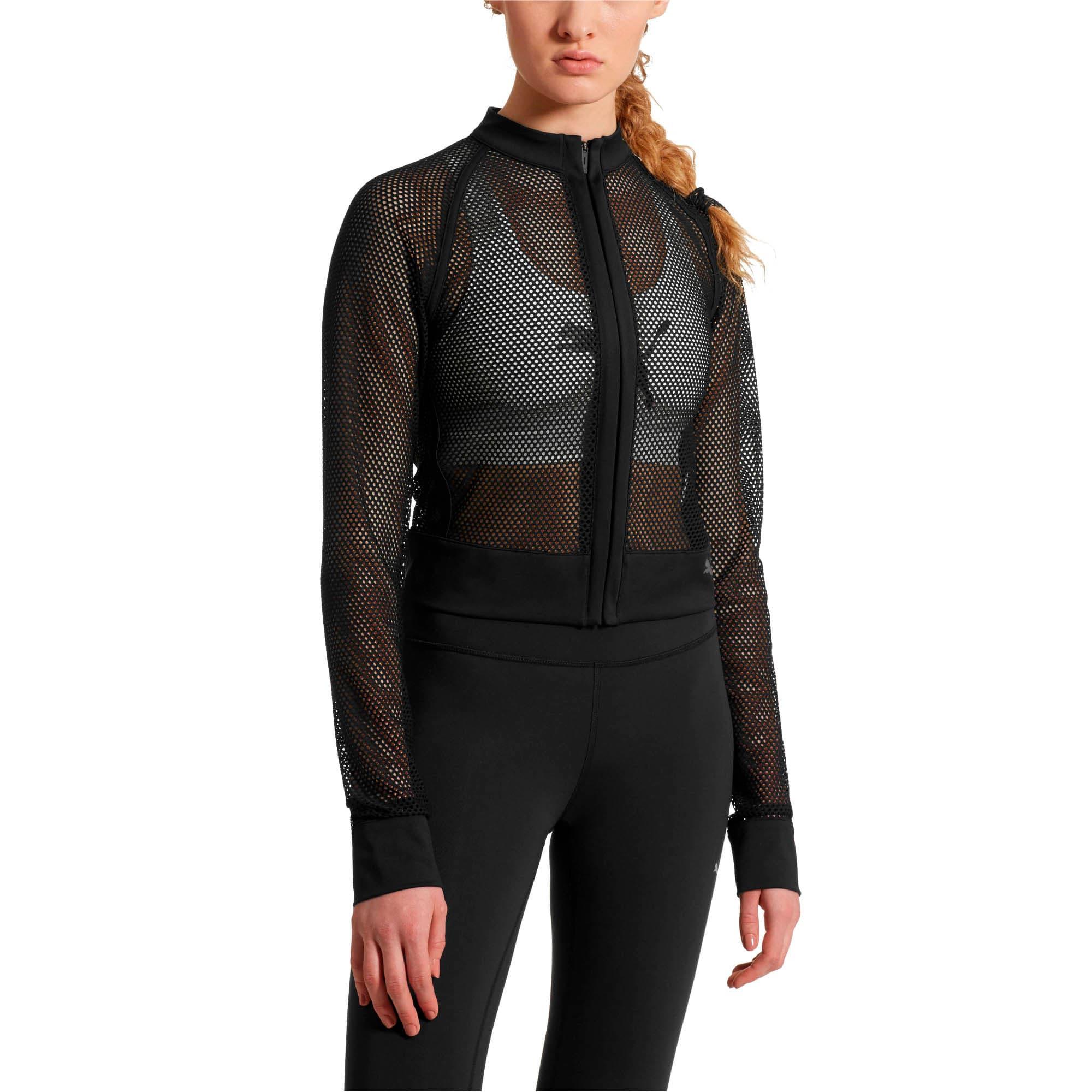 Thumbnail 2 of SG x PUMA Mesh Jacket, Puma Black, medium