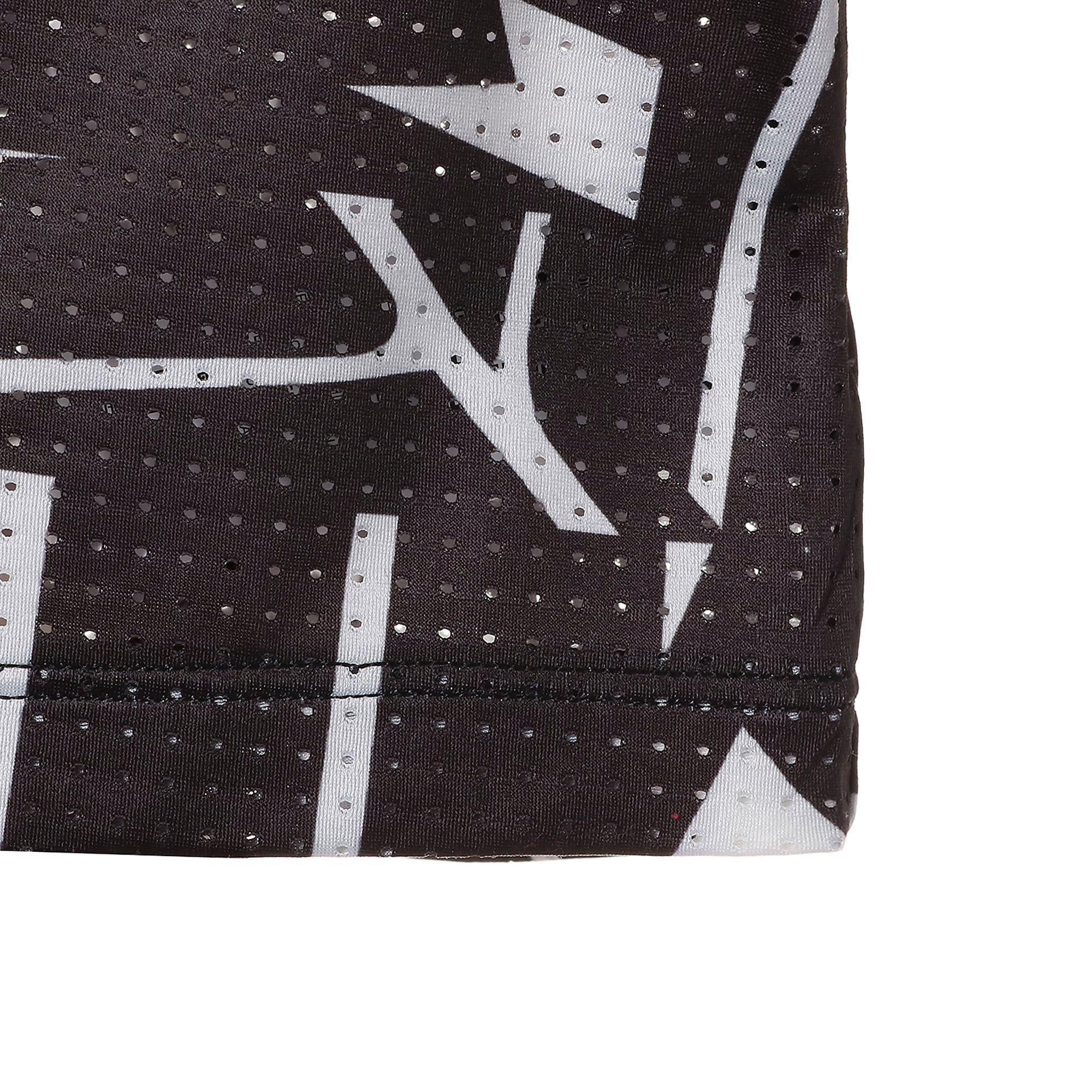 Thumbnail 9 of TZ コスミック ウィメンズ SS Tシャツ 半袖, puma black-puma white AOP, medium-JPN