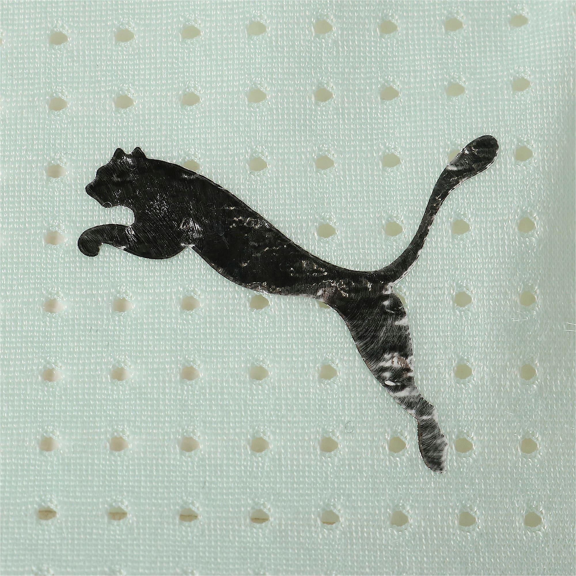 Thumbnail 7 of TZ コスミック ウィメンズ タンク, Fair Aqua-Puma White, medium-JPN