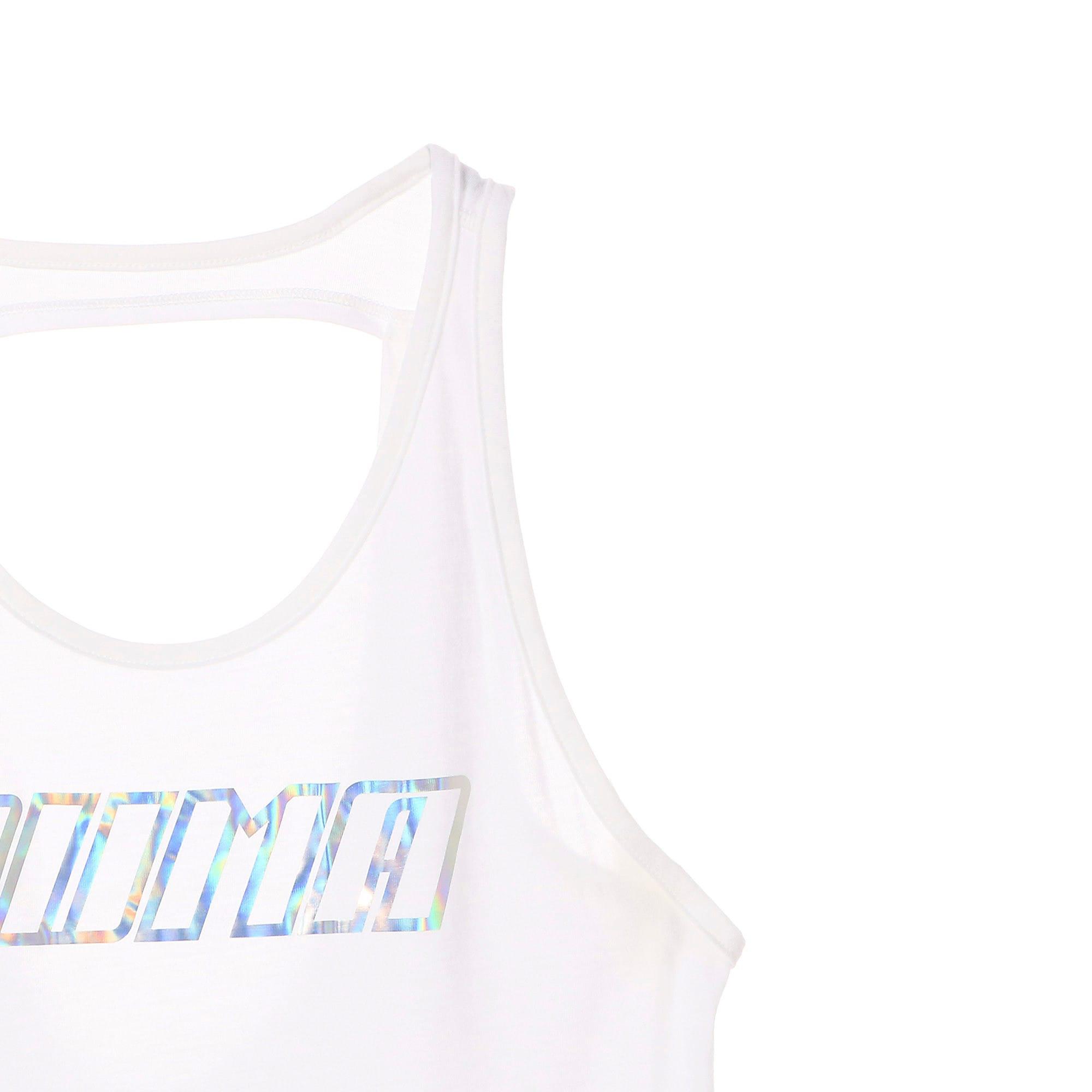 Thumbnail 8 of オウンイット ウィメンズ タンク, Puma White-PUMA wording, medium-JPN