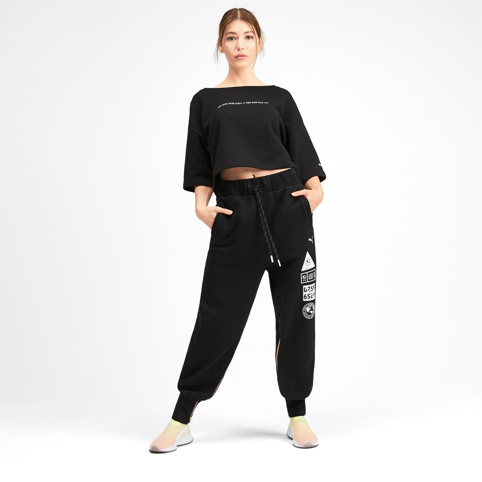 Thumbnail 3 of PUMA x SELENA GOMEZ Women's Sweatpants, Puma Black, medium