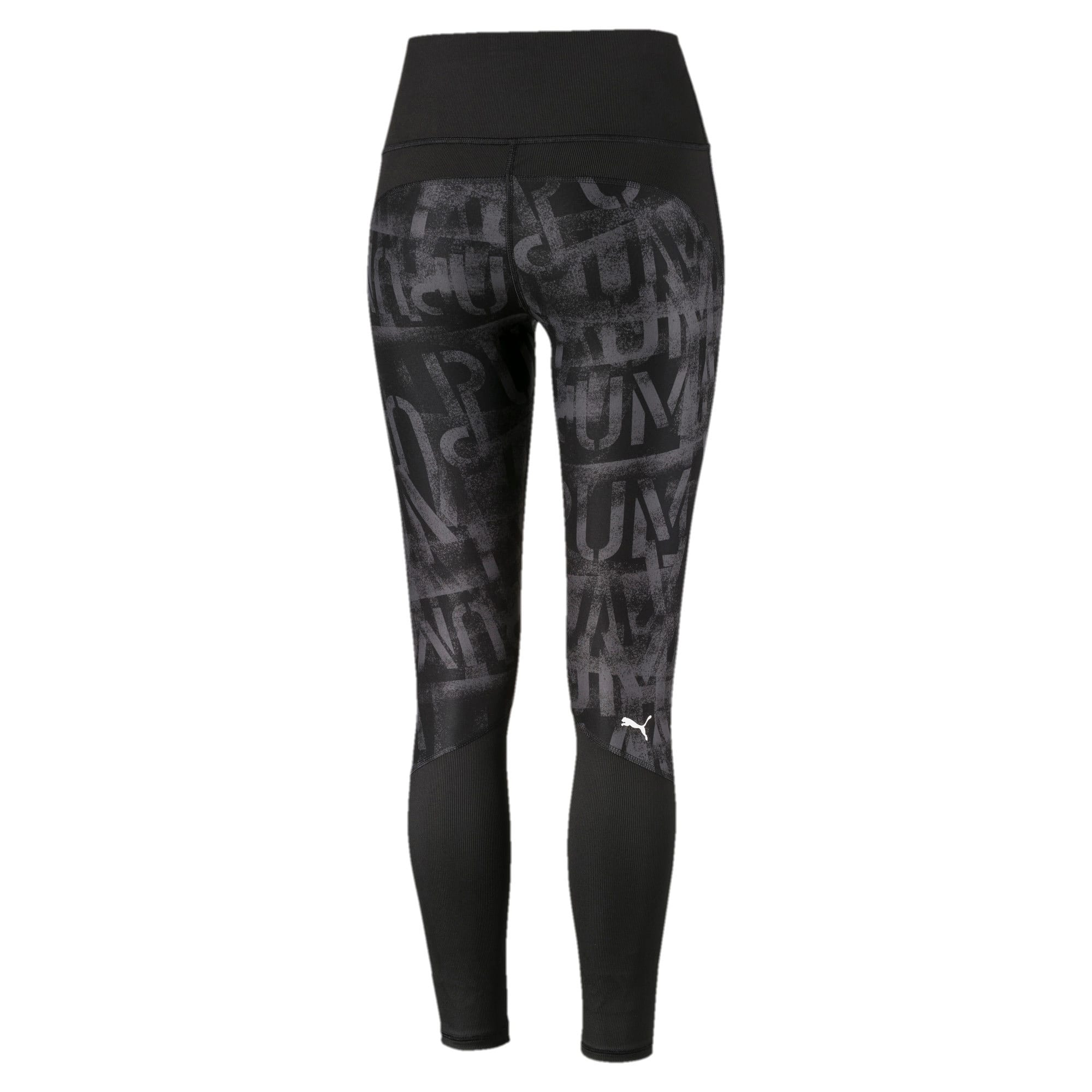 Thumbnail 5 of Studio 7/8 Graphic Women's Tights, Puma Black, medium