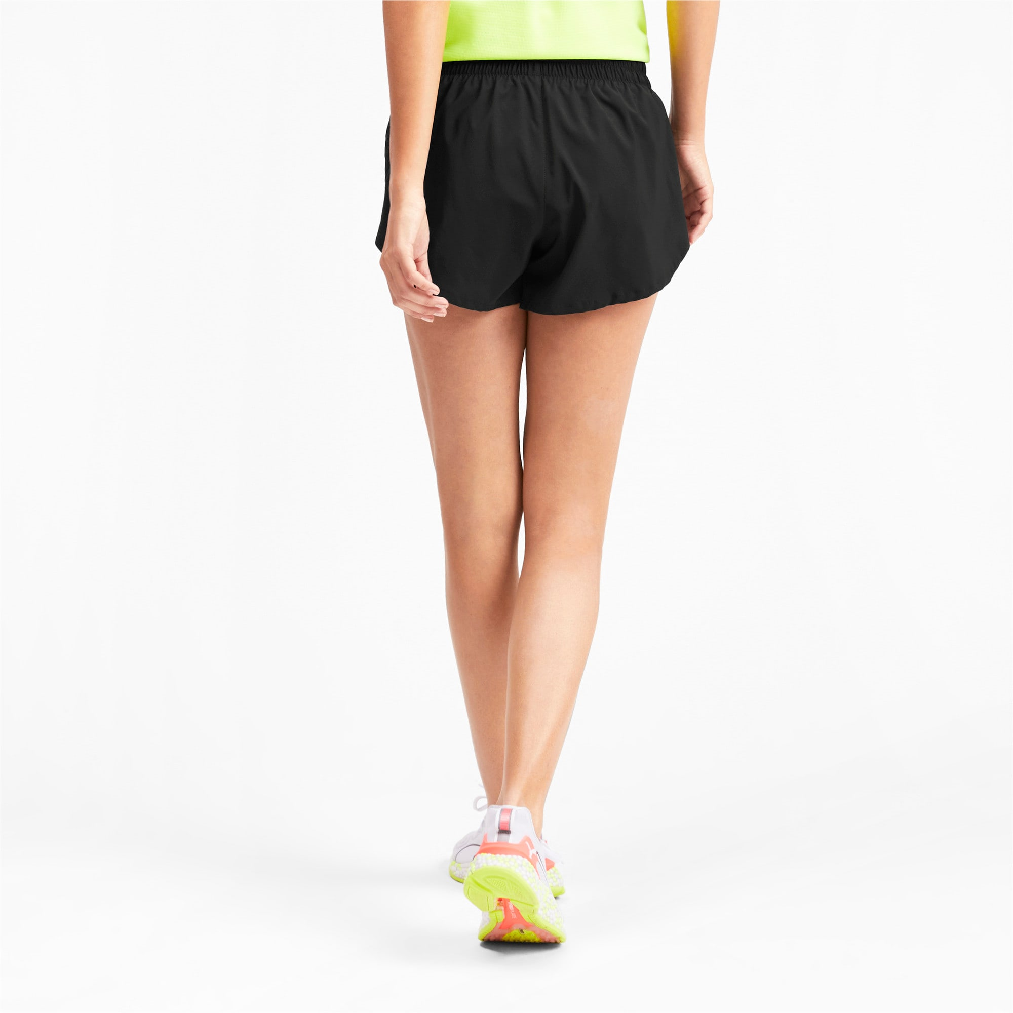 "Thumbnail 2 of 3"" Graphic Damen Shorts, Puma Black-Reflective Print, medium"