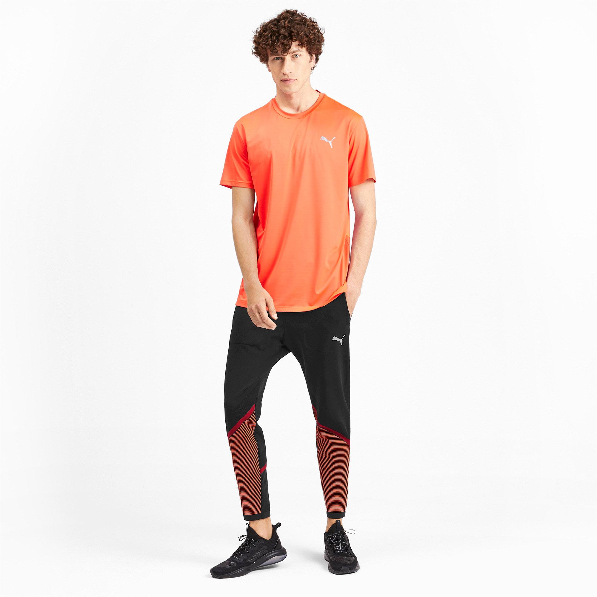 Miniatura 3 de Pantalones Reactive evoKNIT para hombre, Puma Black-Rhubarb, mediano