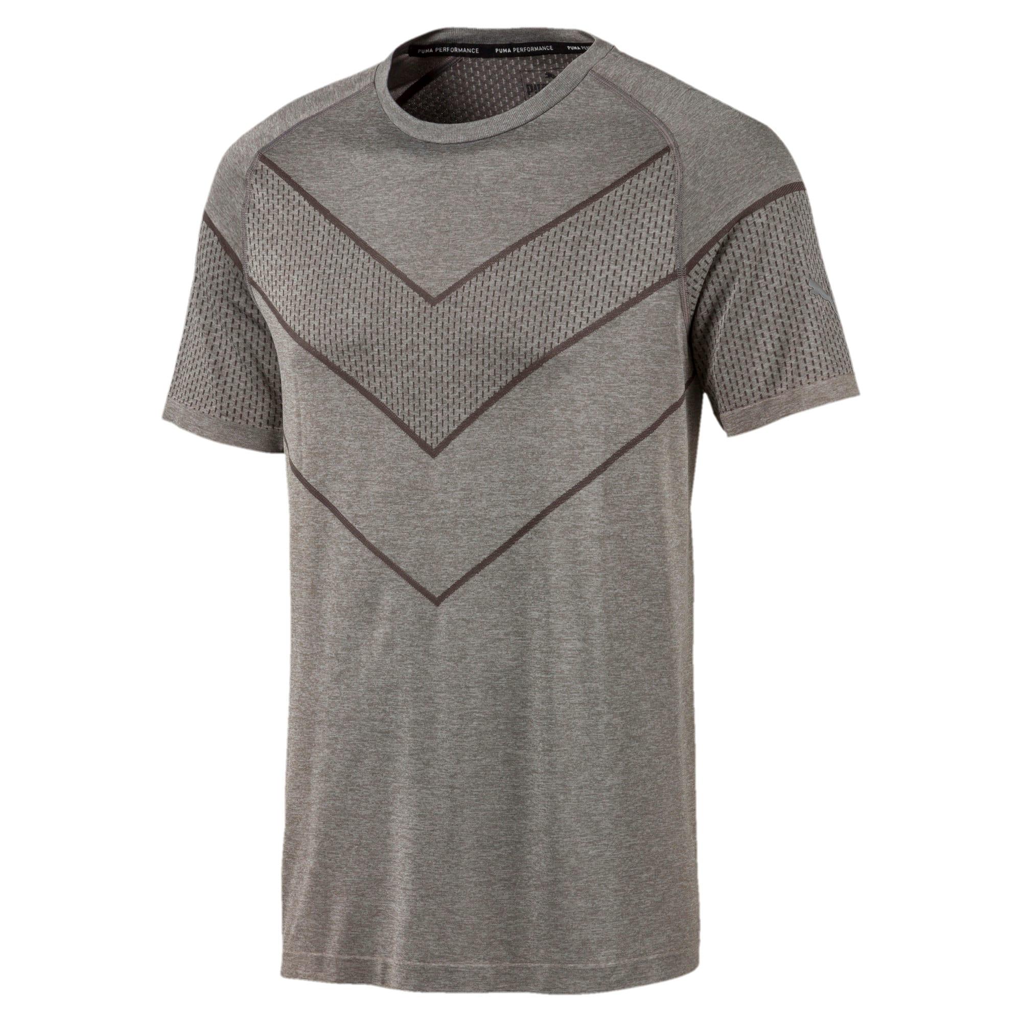 Thumbnail 4 of T-Shirt Reactive evoKNIT pour homme, Medium Gray Heather, medium