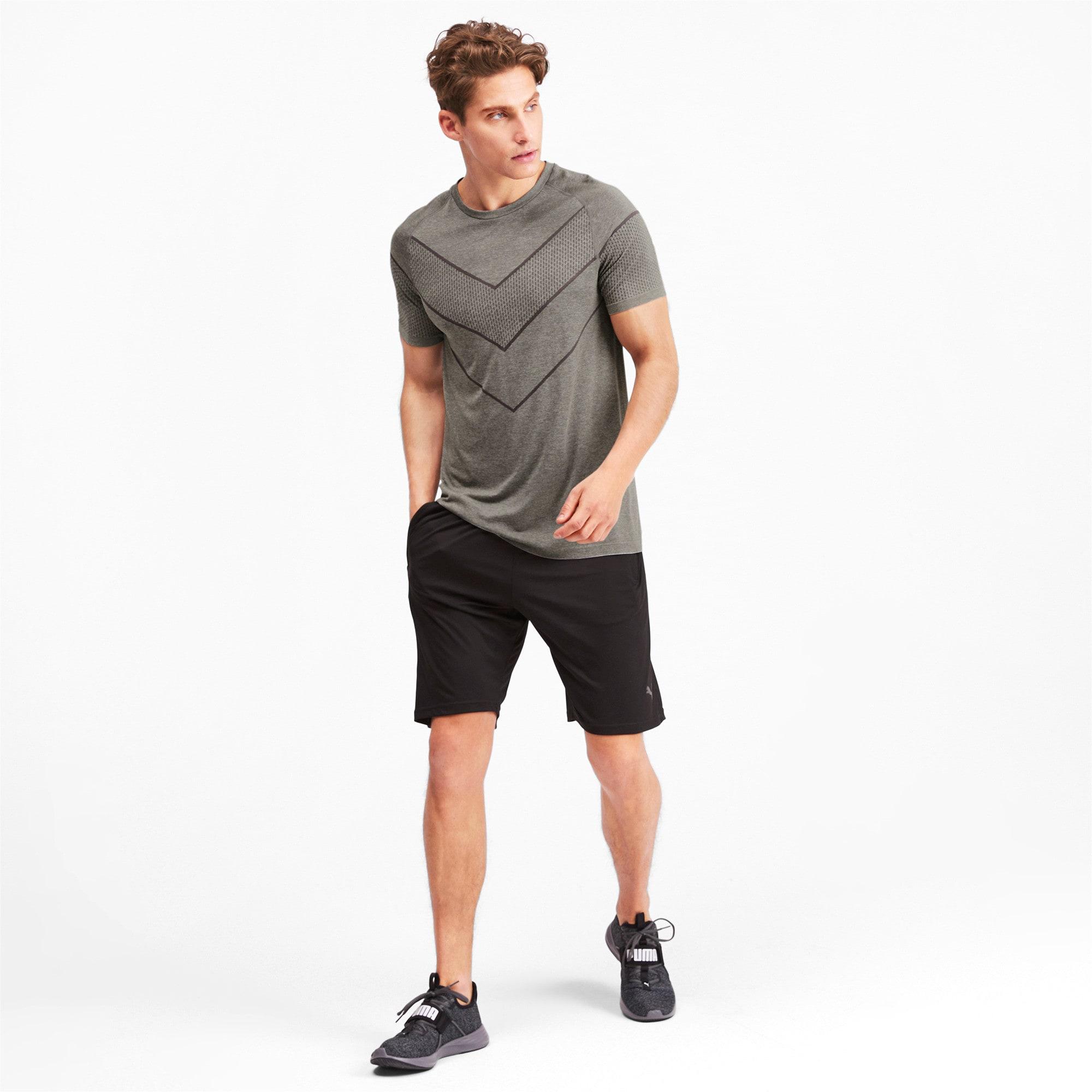 Thumbnail 3 of T-Shirt Reactive evoKNIT pour homme, Medium Gray Heather, medium