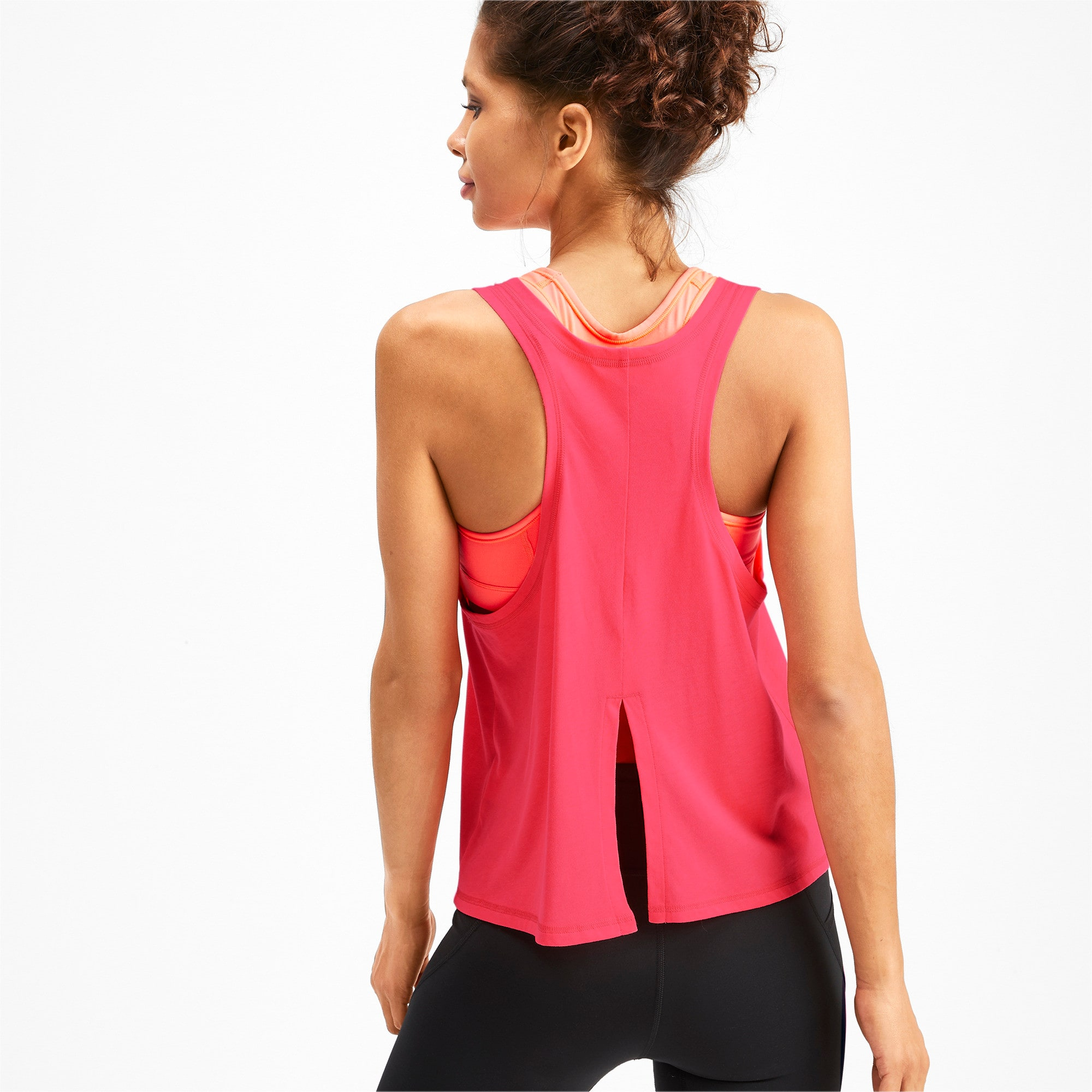 Miniatura 2 de Camiseta sin mangas HIT Feel It para mujer, Pink Alert, mediano