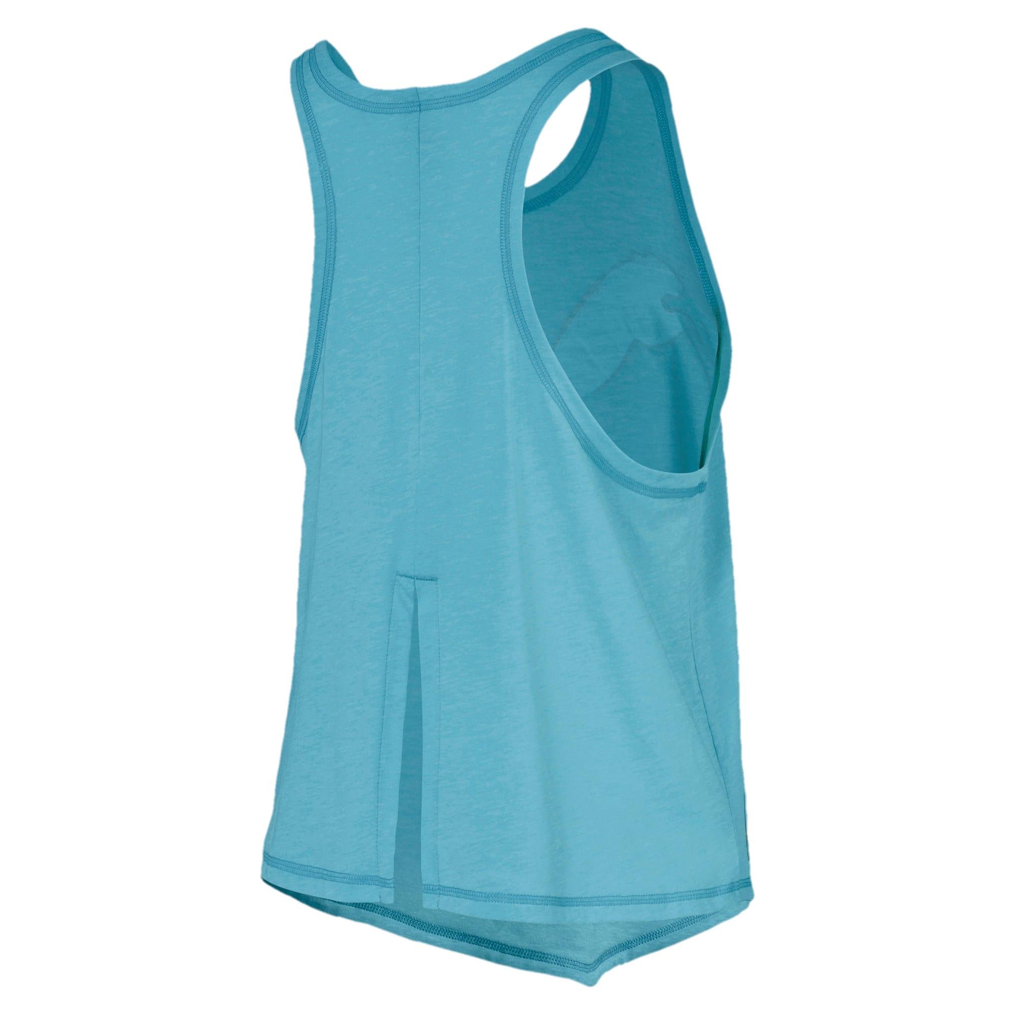 Miniatura 5 de Camiseta sin mangas HIT Feel It para mujer, Milky Blue Heather, mediano