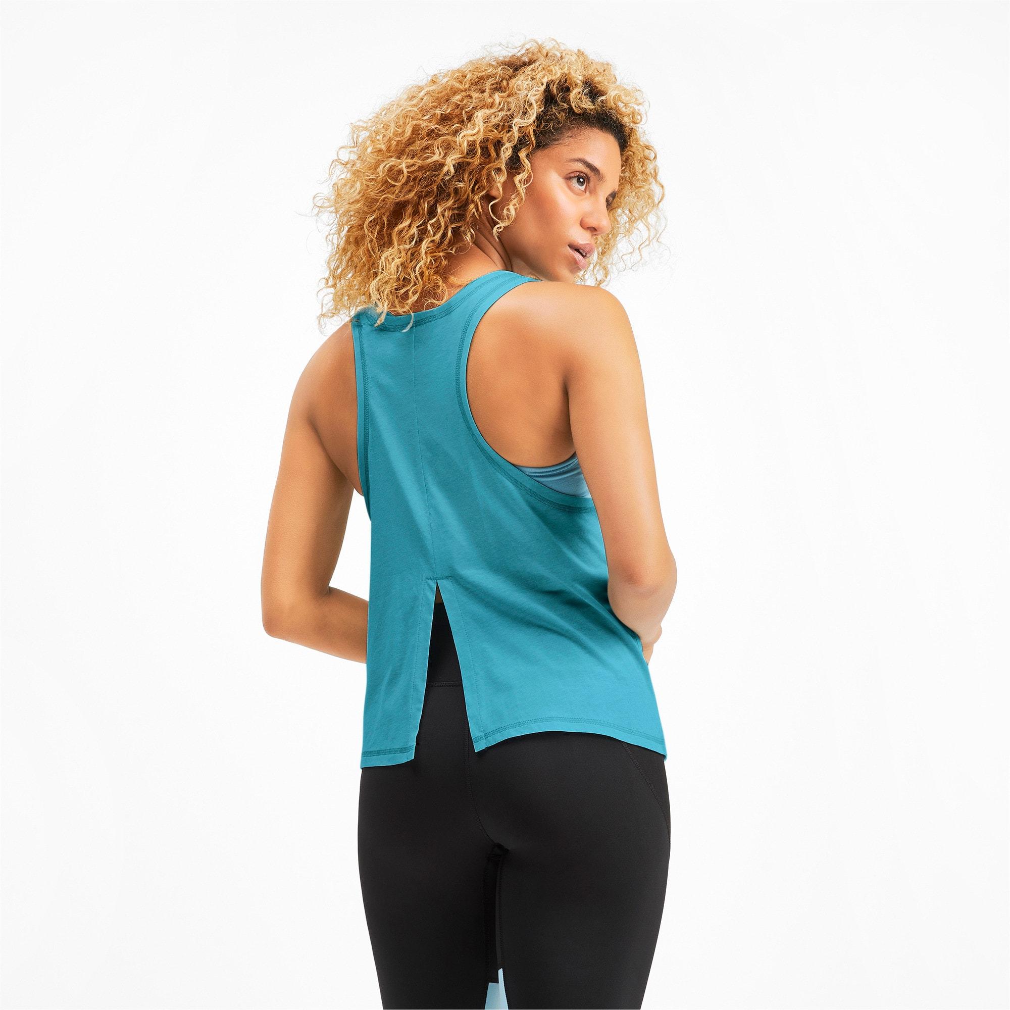 Miniatura 3 de Camiseta sin mangas HIT Feel It para mujer, Milky Blue Heather, mediano