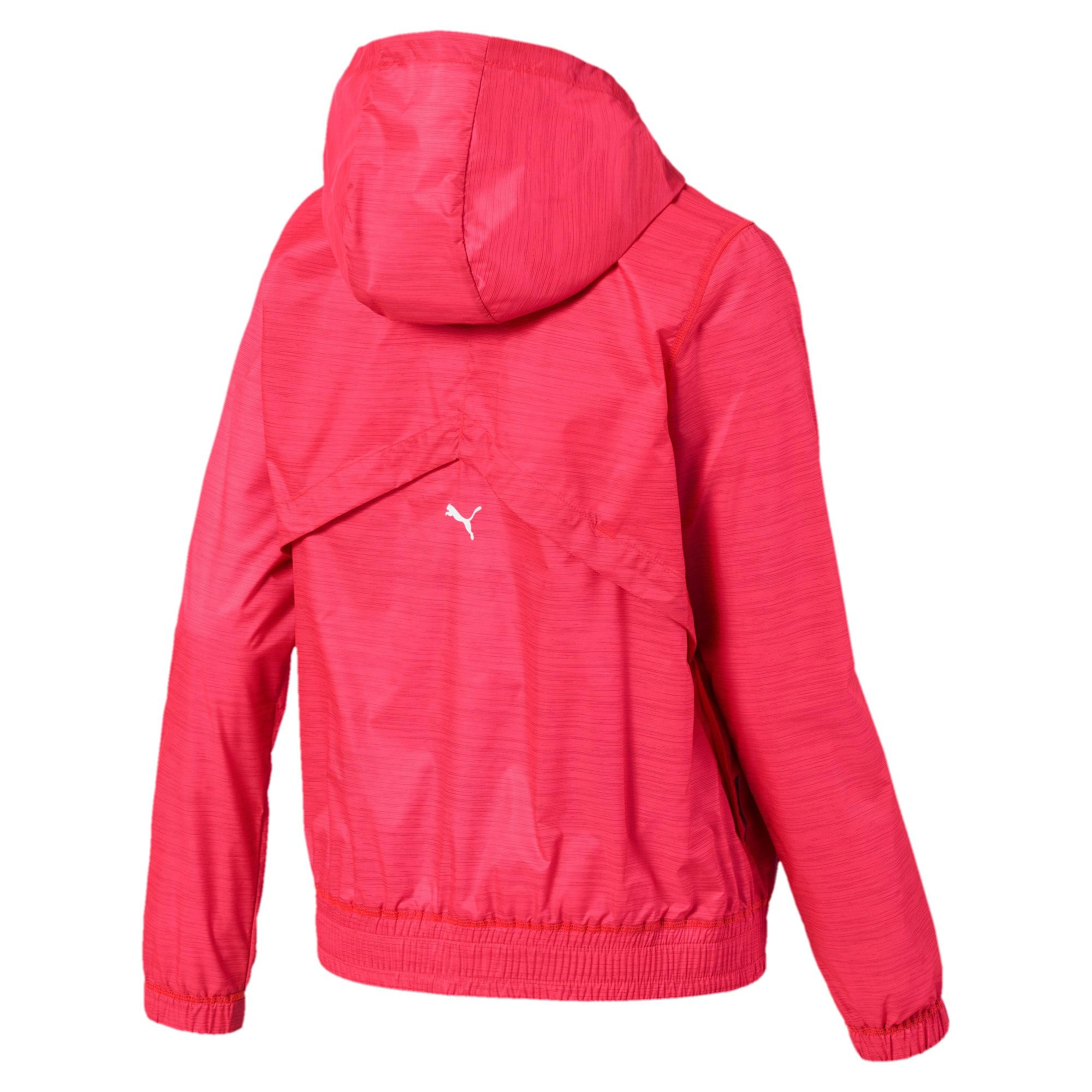 Miniatura 5 de Chaqueta tejida con estampa Be Bold para mujer, Pink Alert, mediano