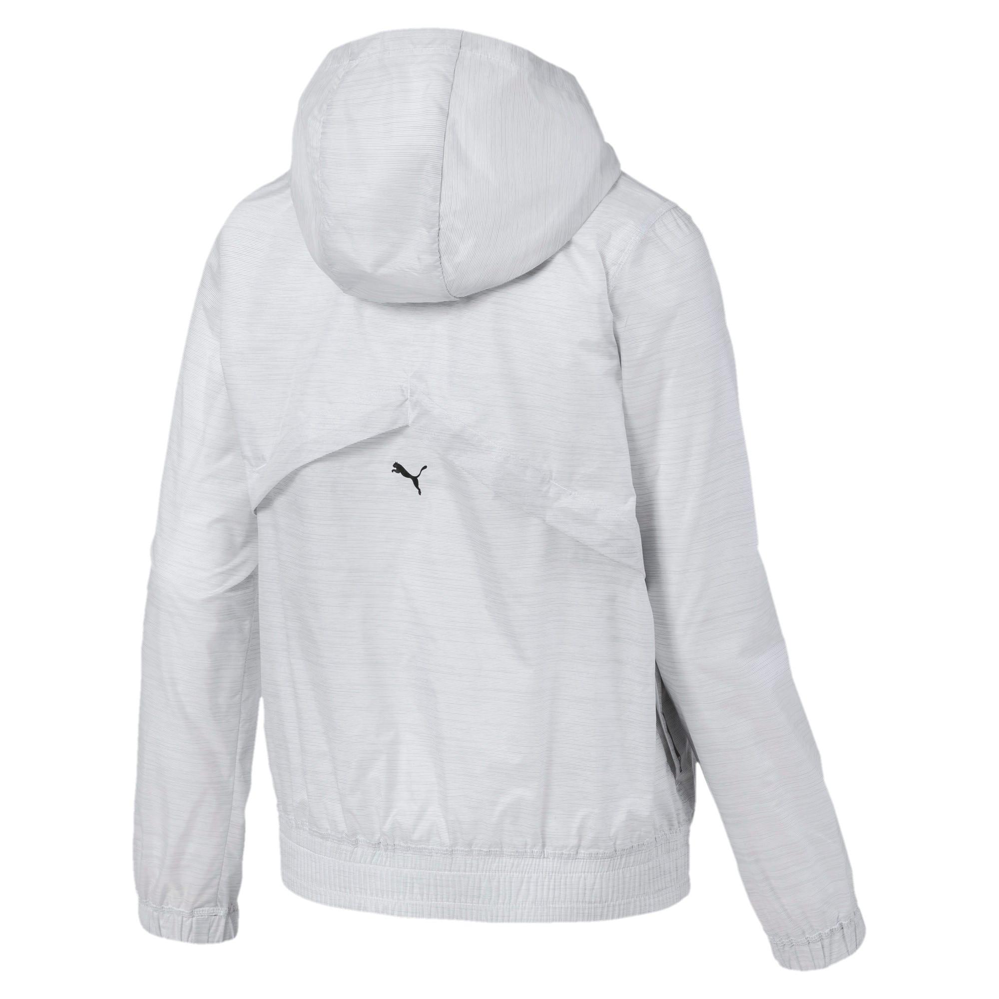 Miniatura 5 de Chaqueta tejida con estampa Be Bold para mujer, Puma White, mediano