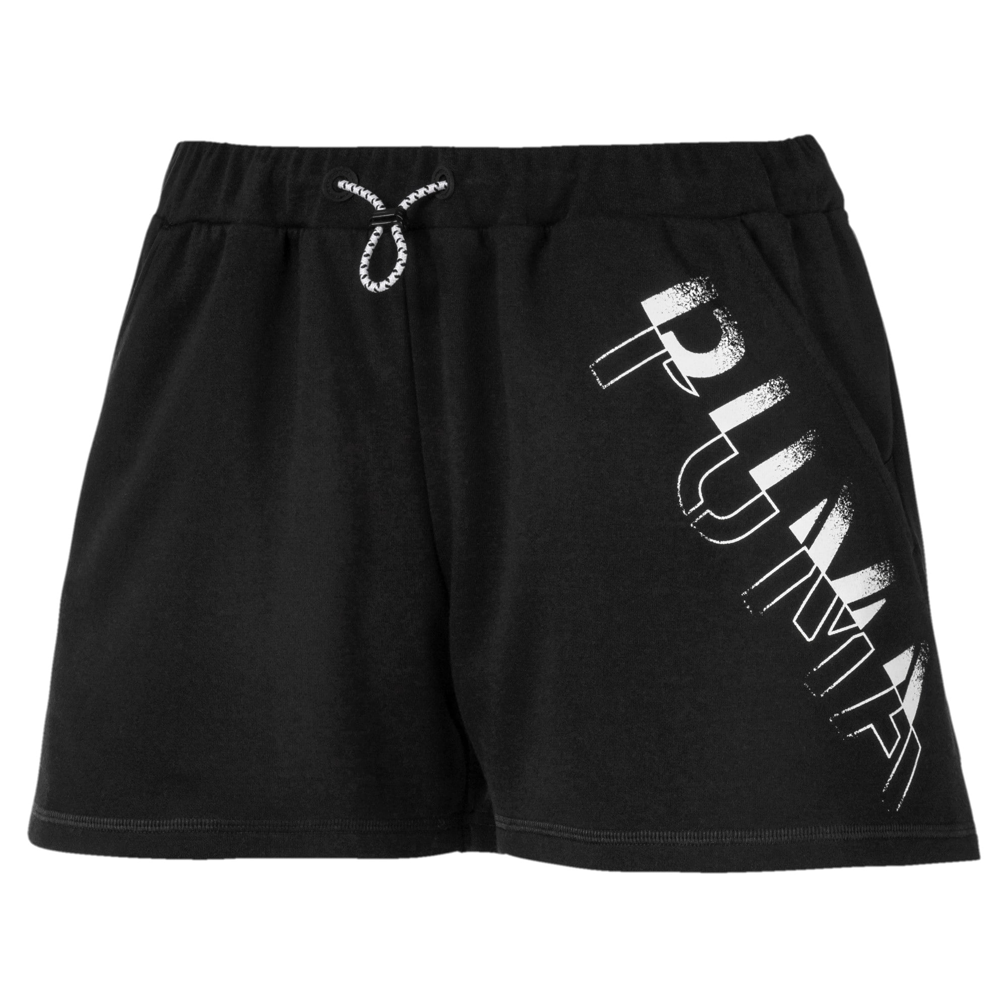 Miniatura 1 de Shorts HIT Feel It para mujer, Puma Black, mediano