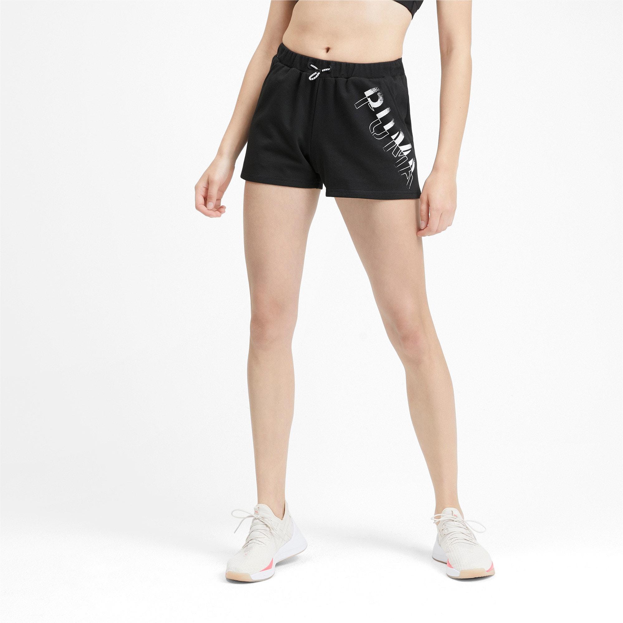 Miniatura 2 de Shorts HIT Feel It para mujer, Puma Black, mediano