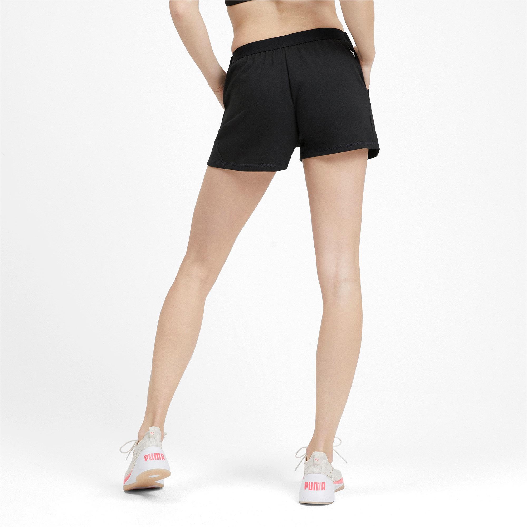 Miniatura 3 de Shorts HIT Feel It para mujer, Puma Black, mediano