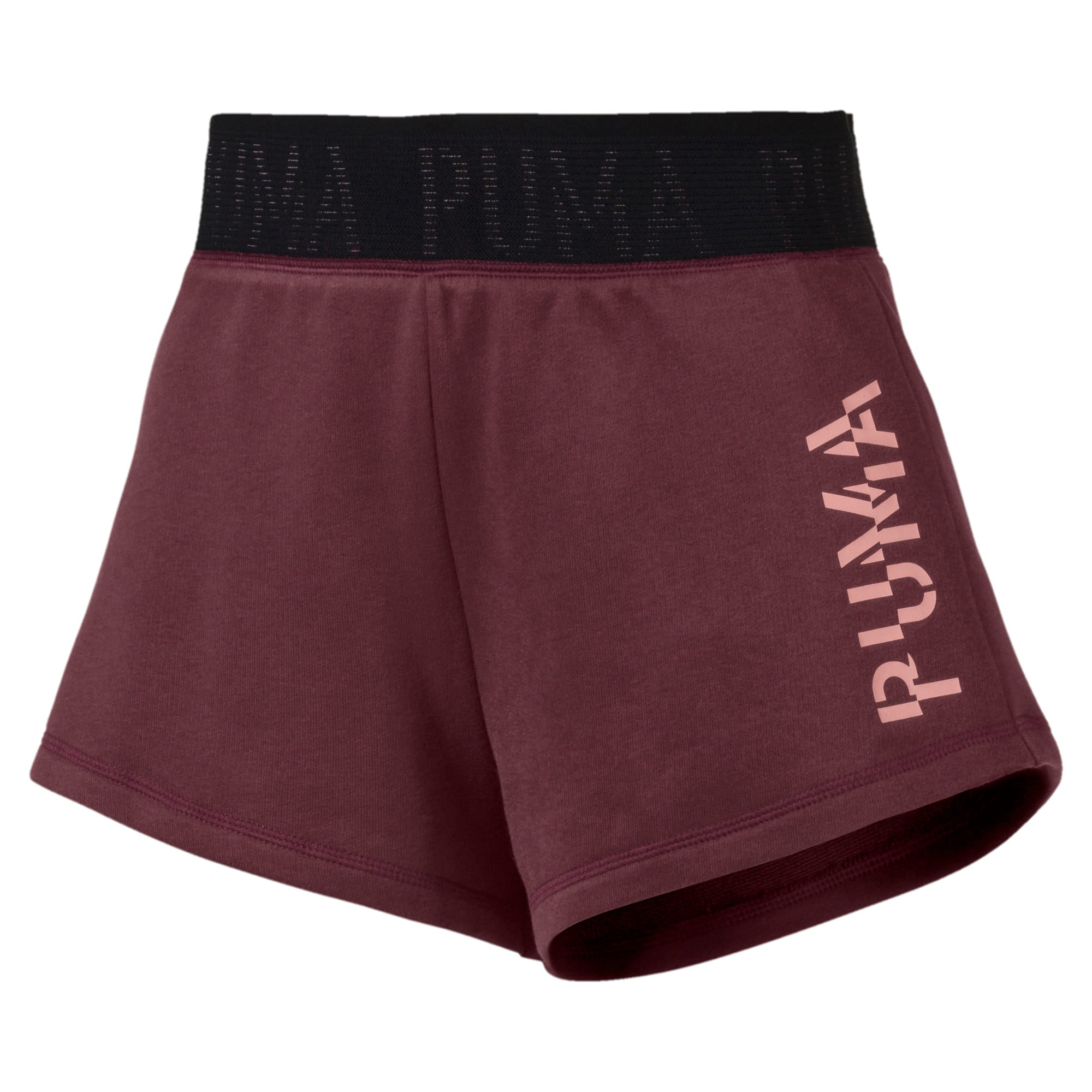 Thumbnail 1 of Logo Women's Shorts, Vineyard Wine Heather, medium